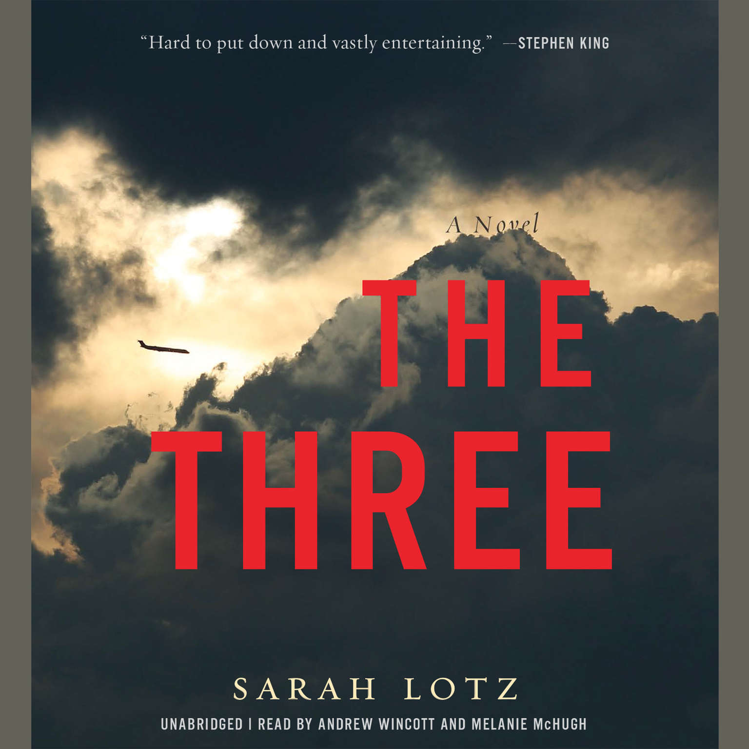 Printable The Three: A Novel Audiobook Cover Art