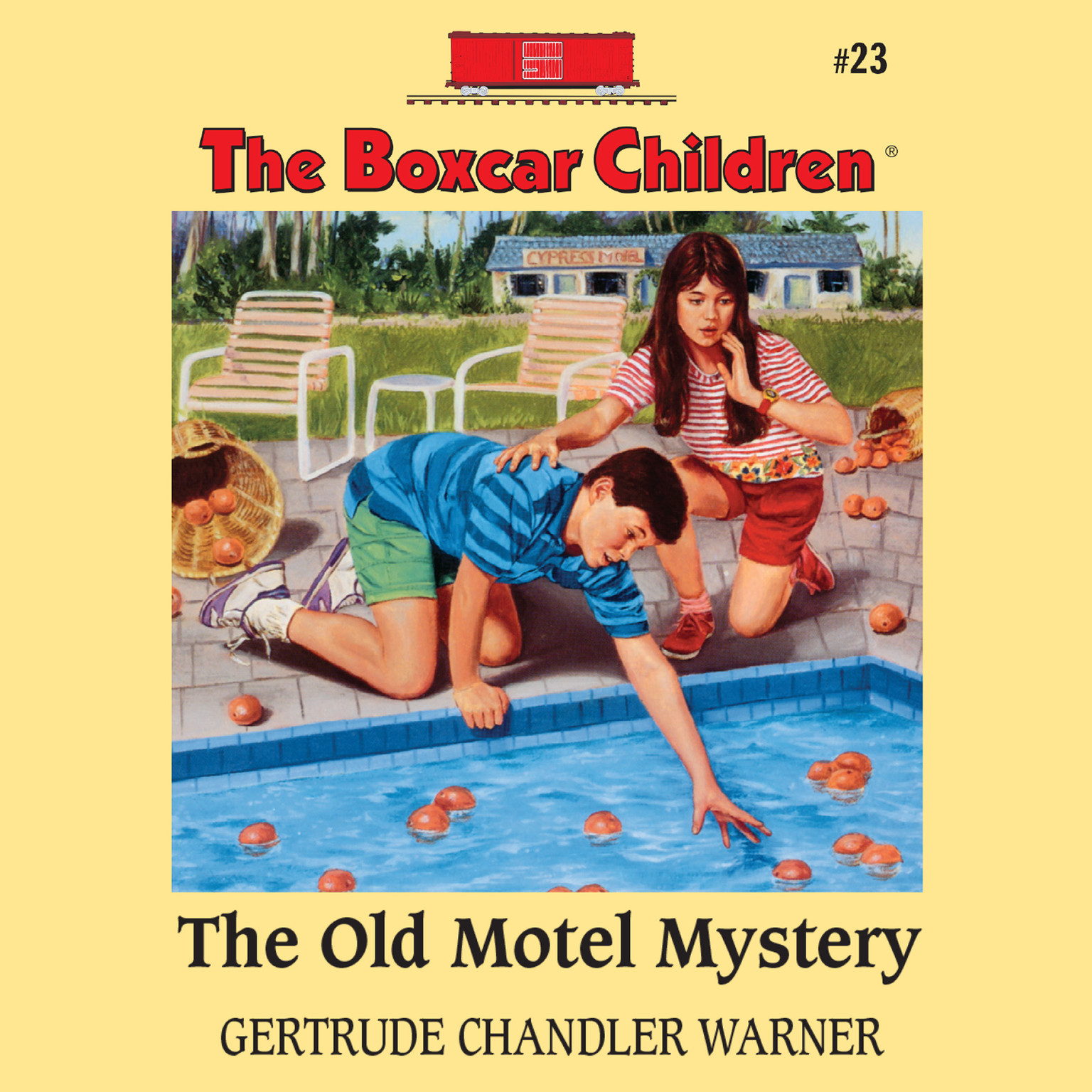Printable The Old Motel Mystery Audiobook Cover Art
