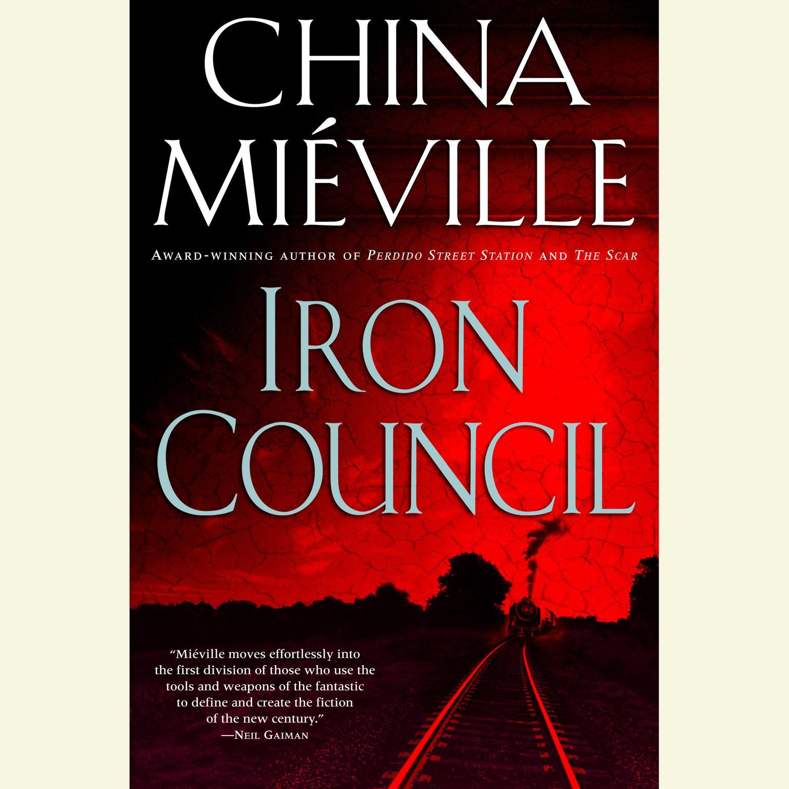 Printable Iron Council: A Novel Audiobook Cover Art