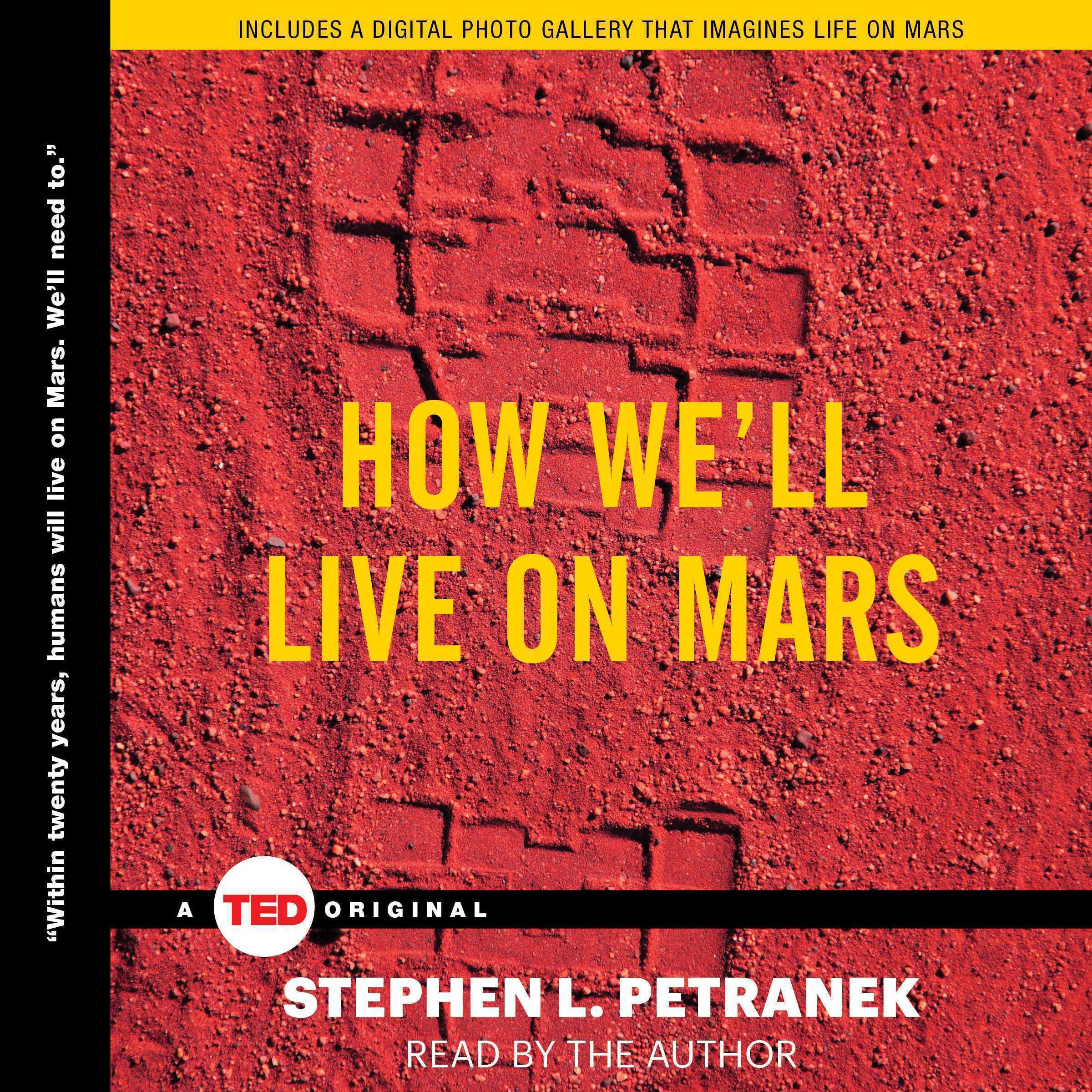 Printable How We'll Live on Mars Audiobook Cover Art