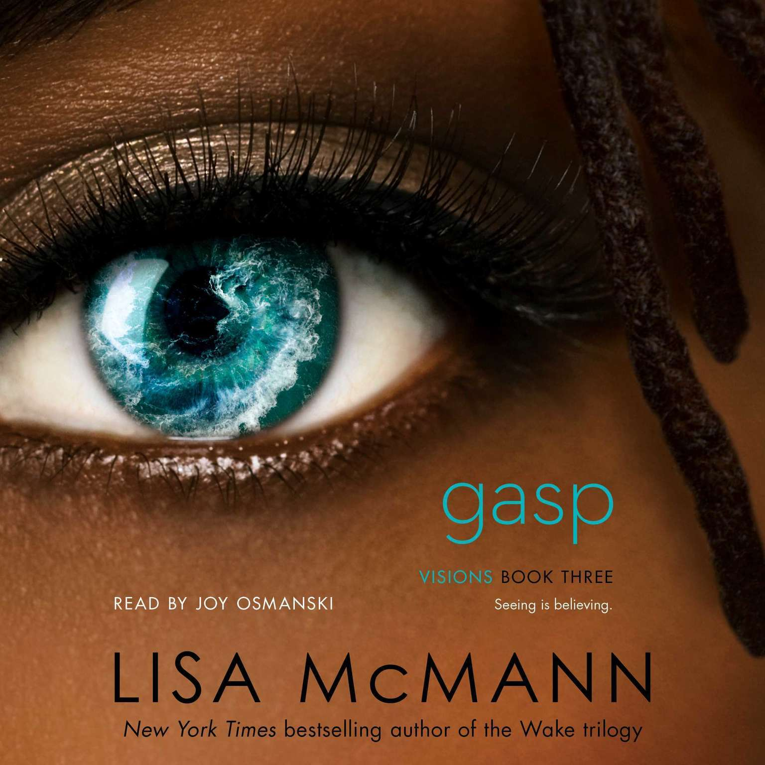 Printable Gasp Audiobook Cover Art