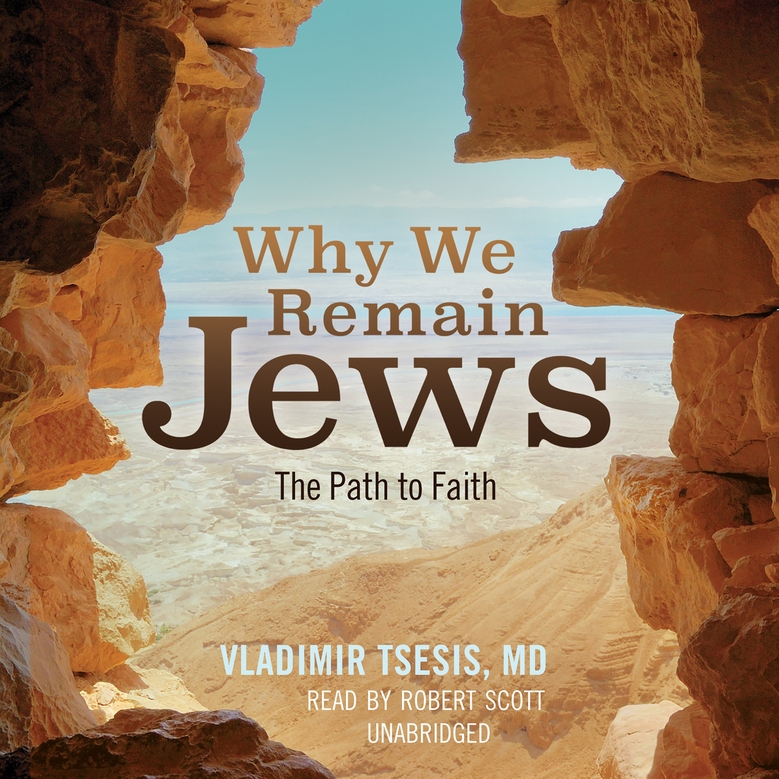 Printable Why We Remain Jews: The Path to Faith Audiobook Cover Art