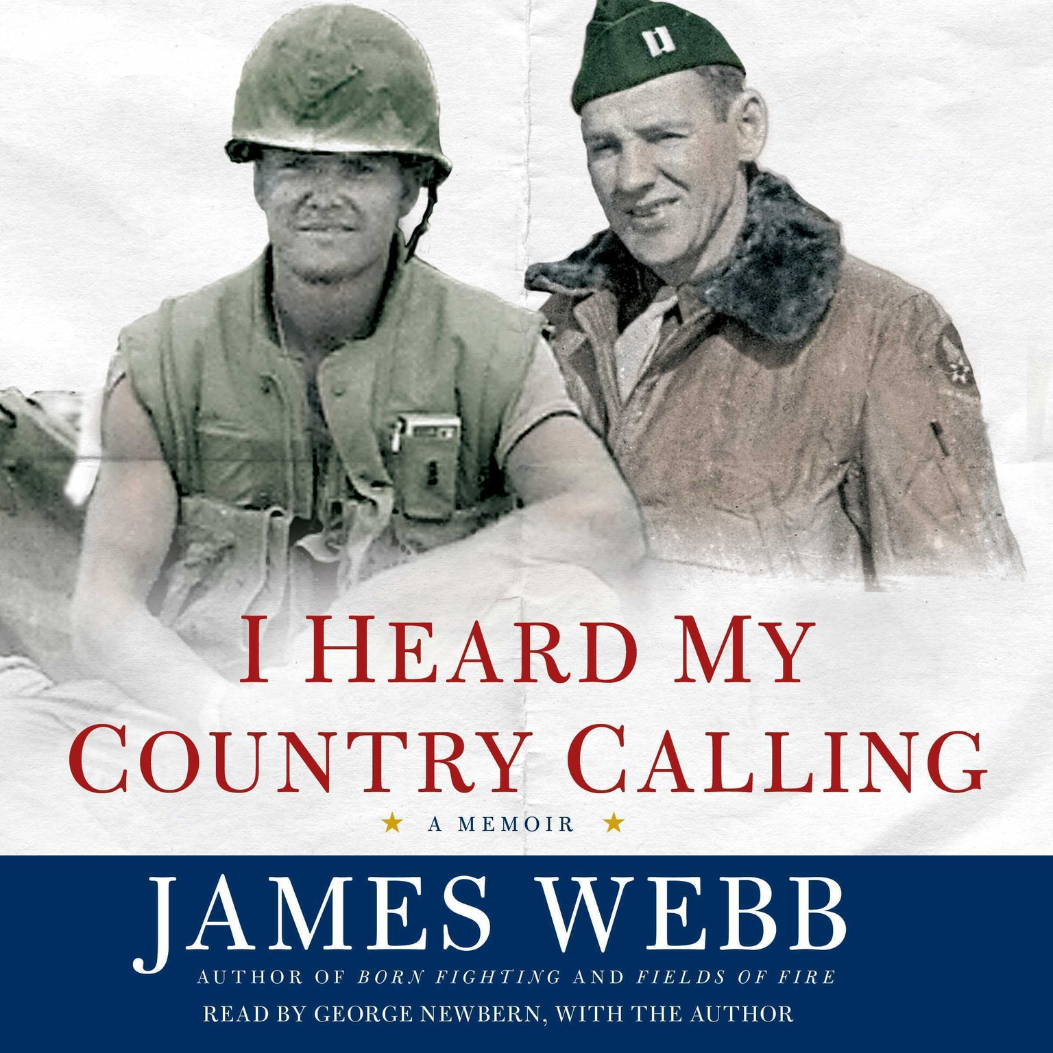 Printable I Heard My Country Calling: A Memoir Audiobook Cover Art