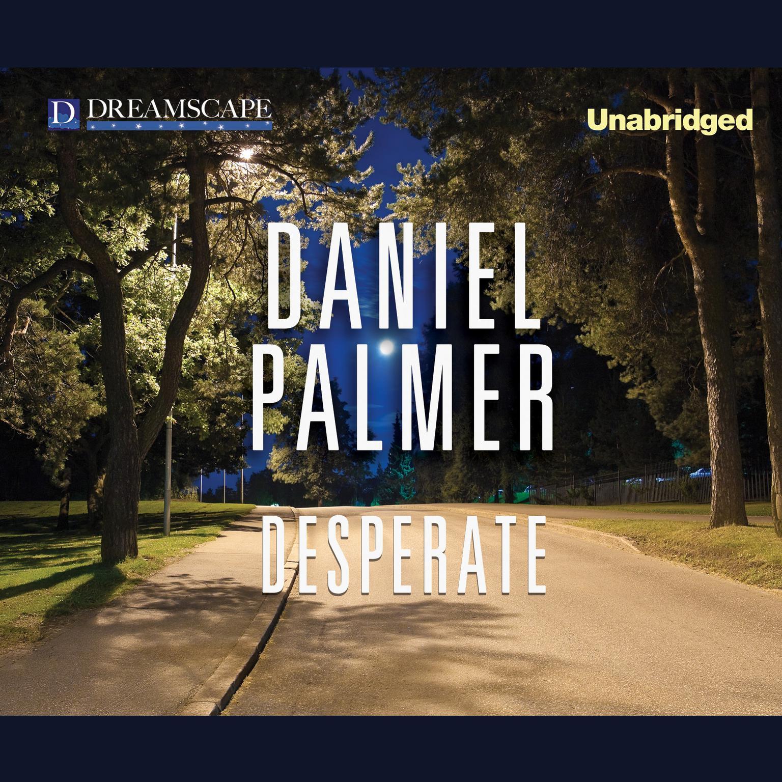 Printable Desperate Audiobook Cover Art