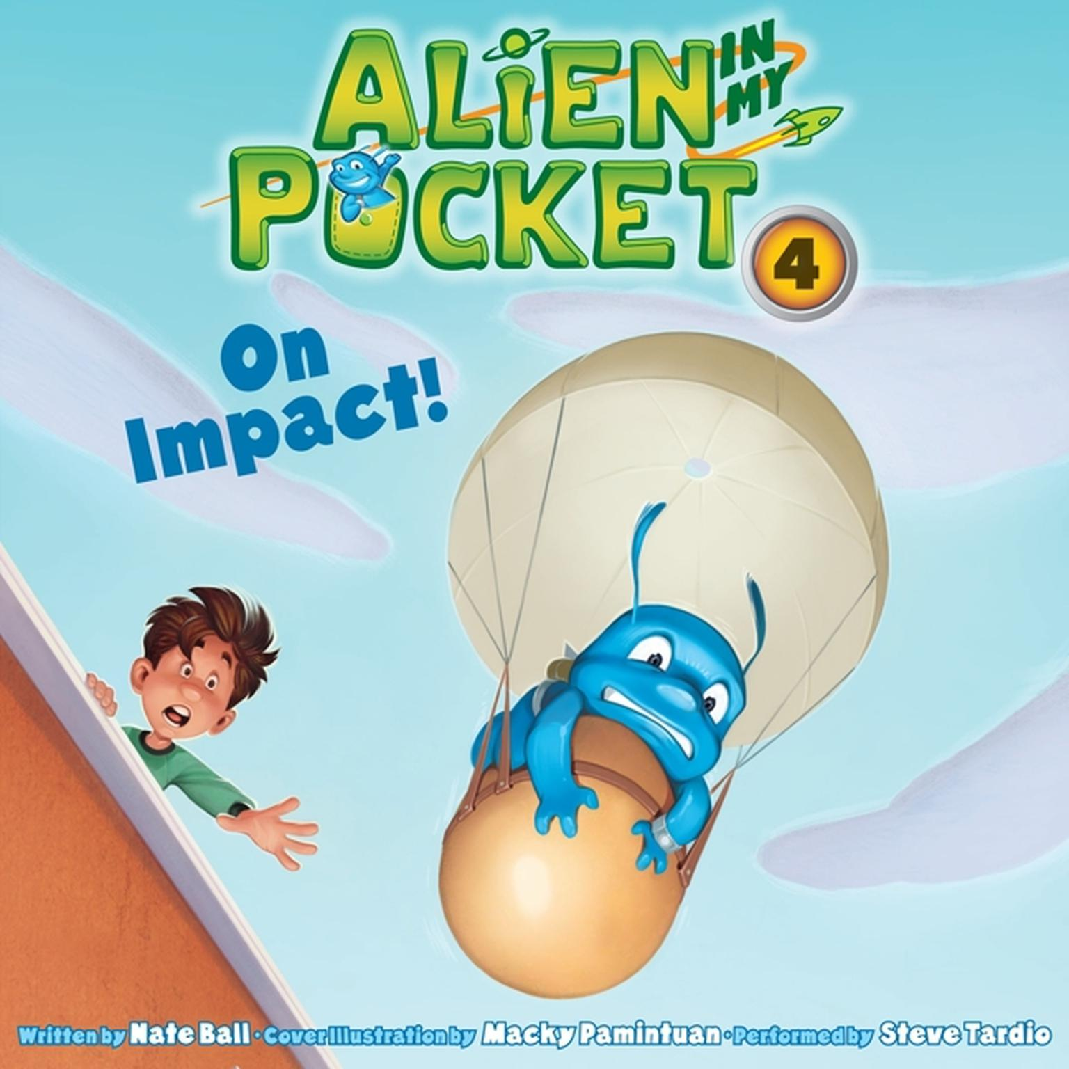 Printable On Impact! Audiobook Cover Art