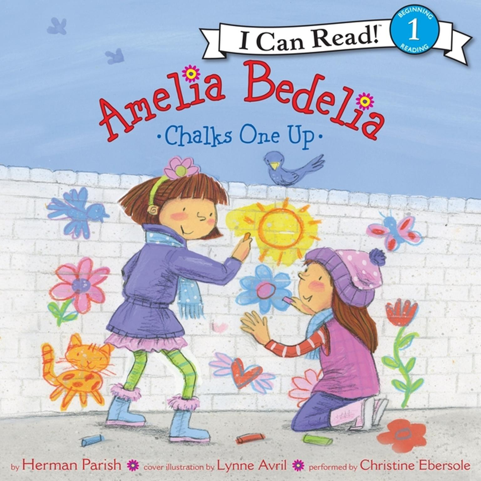 Printable Amelia Bedelia Chalks One Up Audiobook Cover Art