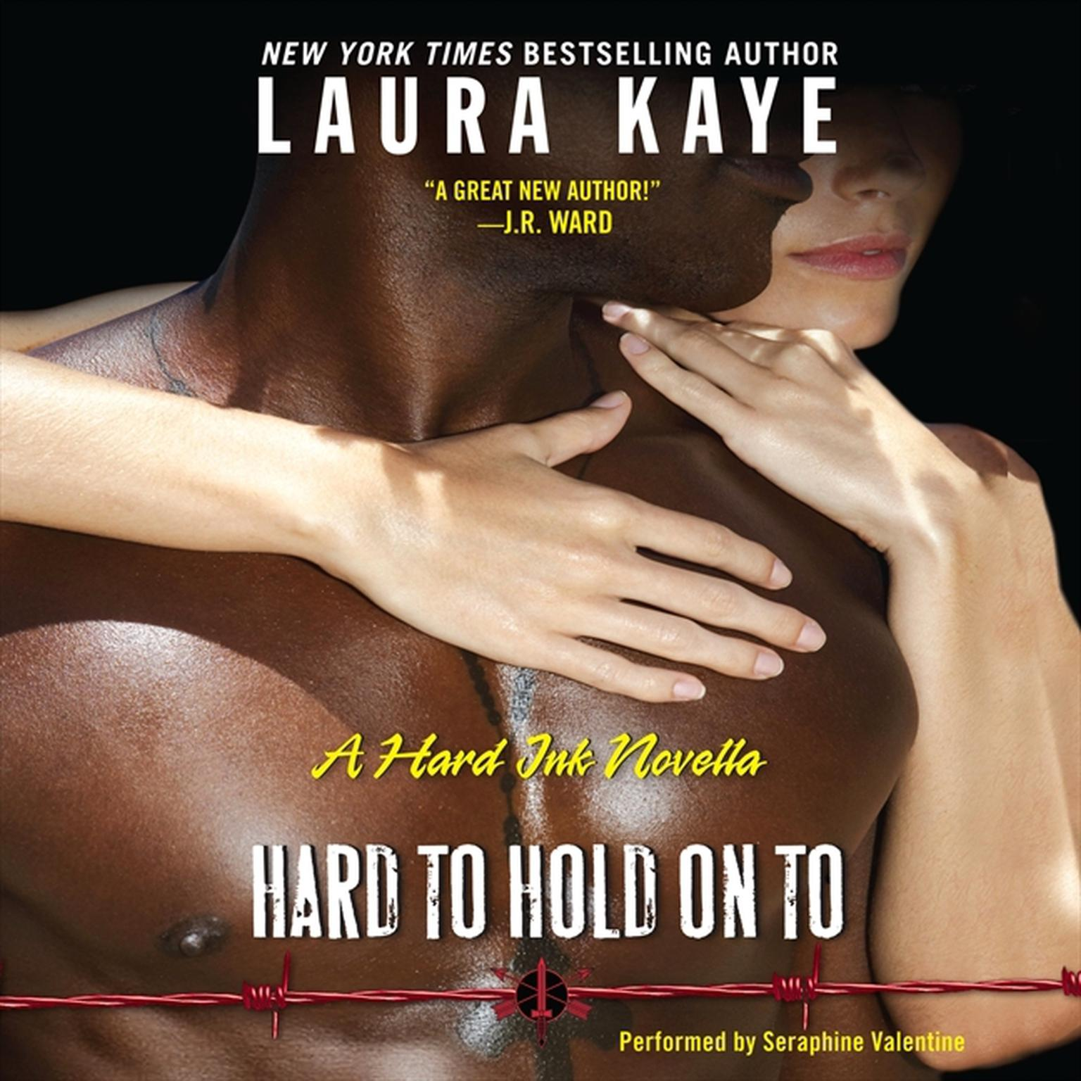 Printable Hard to Hold On To: A Hard Ink Novella Audiobook Cover Art