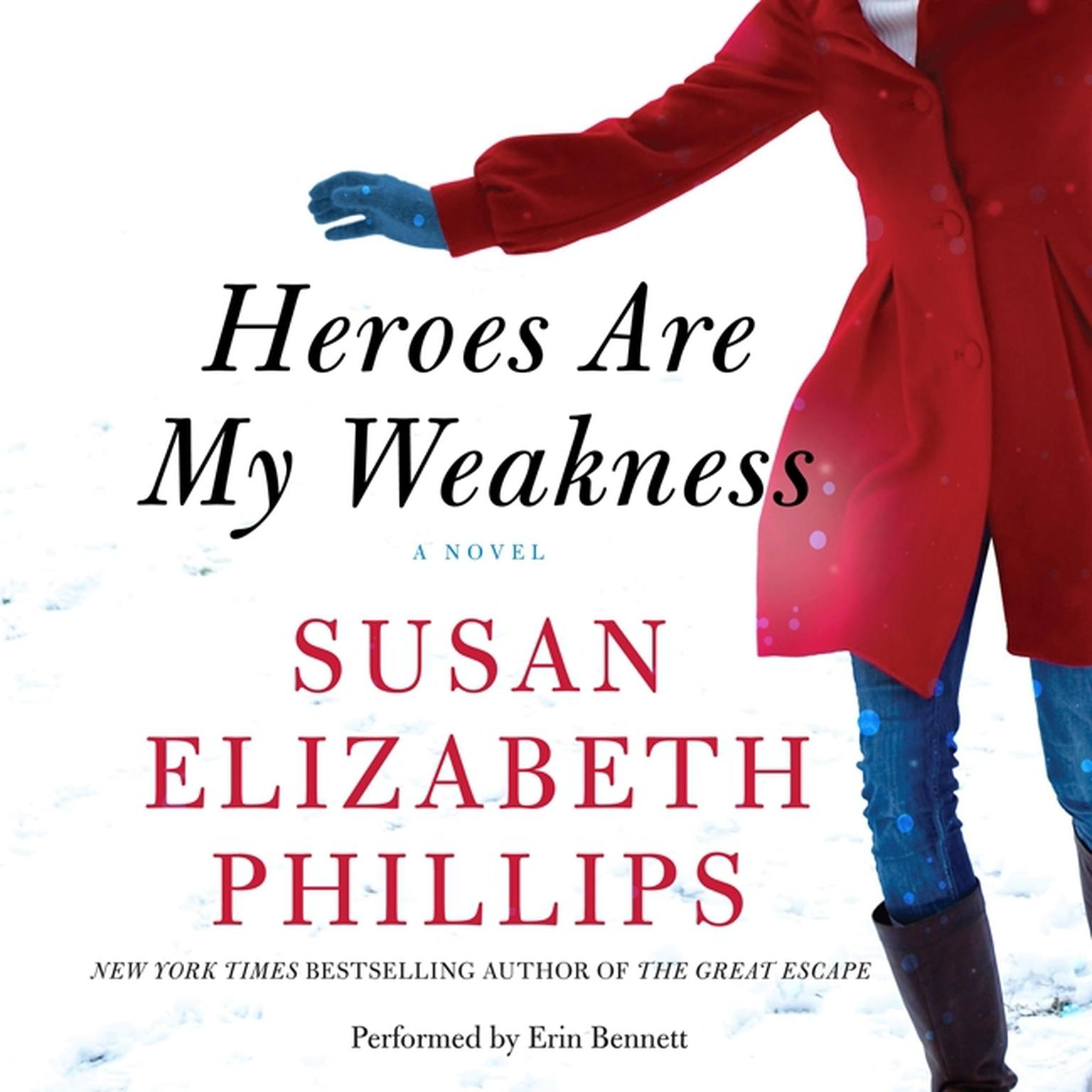 Printable Heroes Are My Weakness: A Novel Audiobook Cover Art