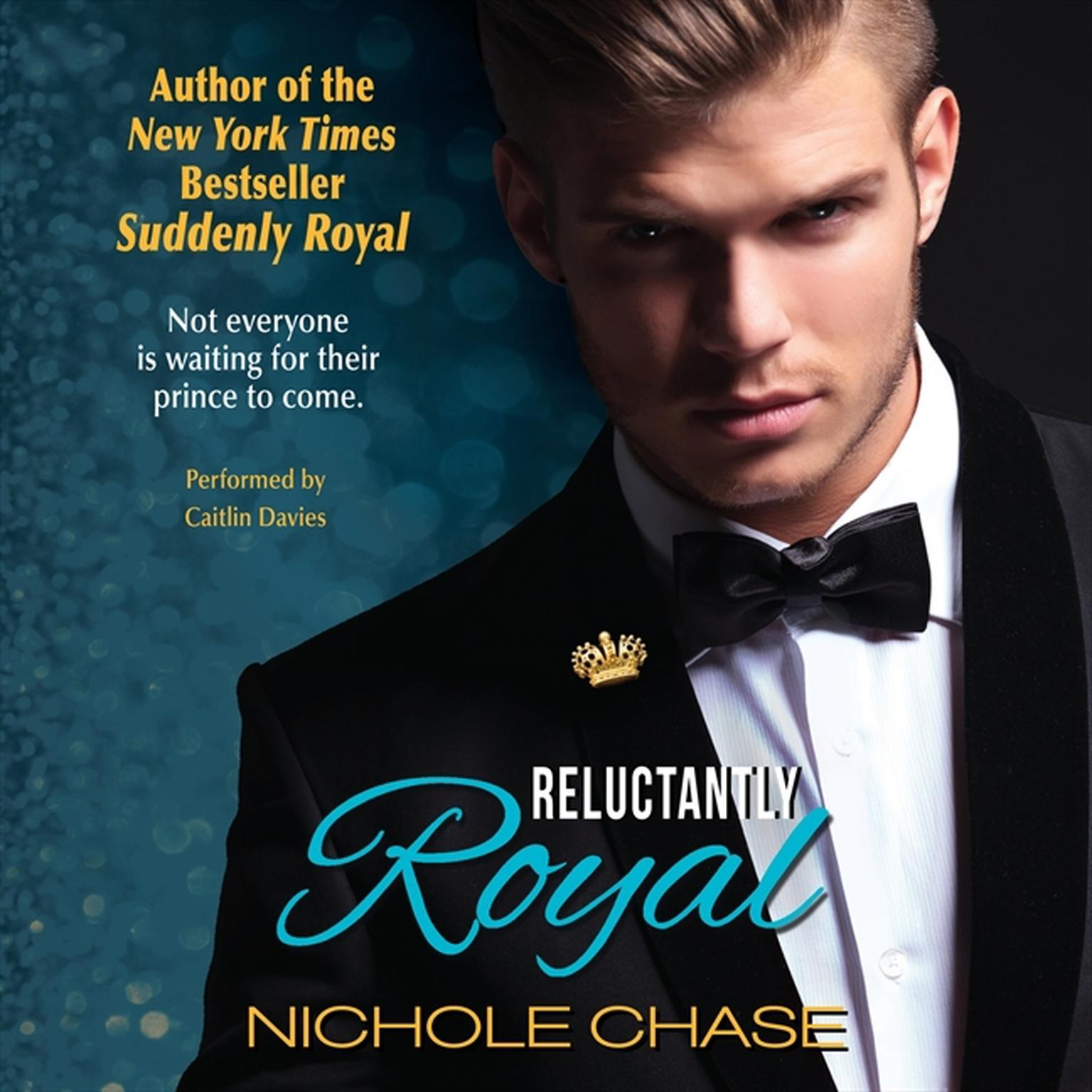 Printable Reluctantly Royal Audiobook Cover Art