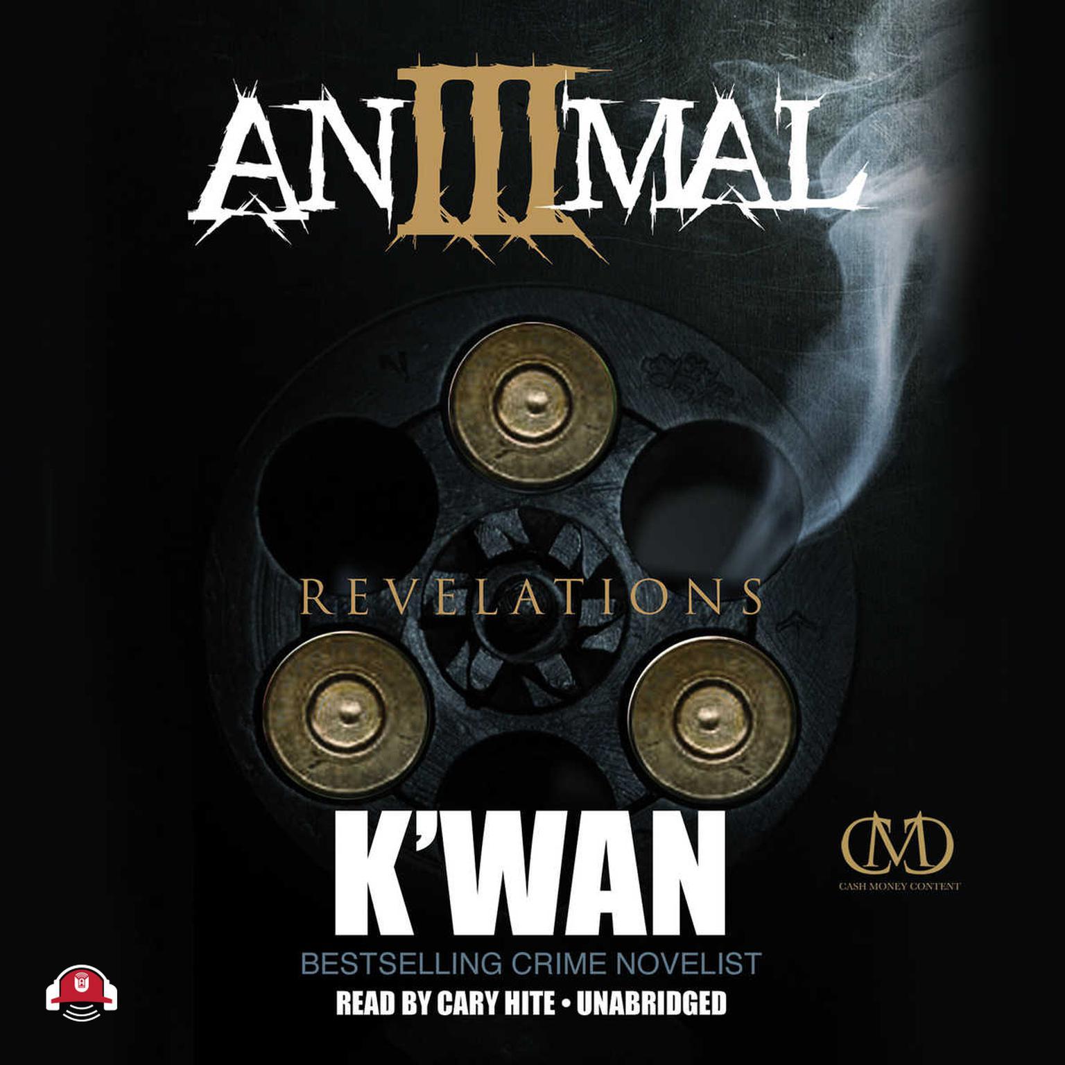 Printable Animal 3: Revelations Audiobook Cover Art