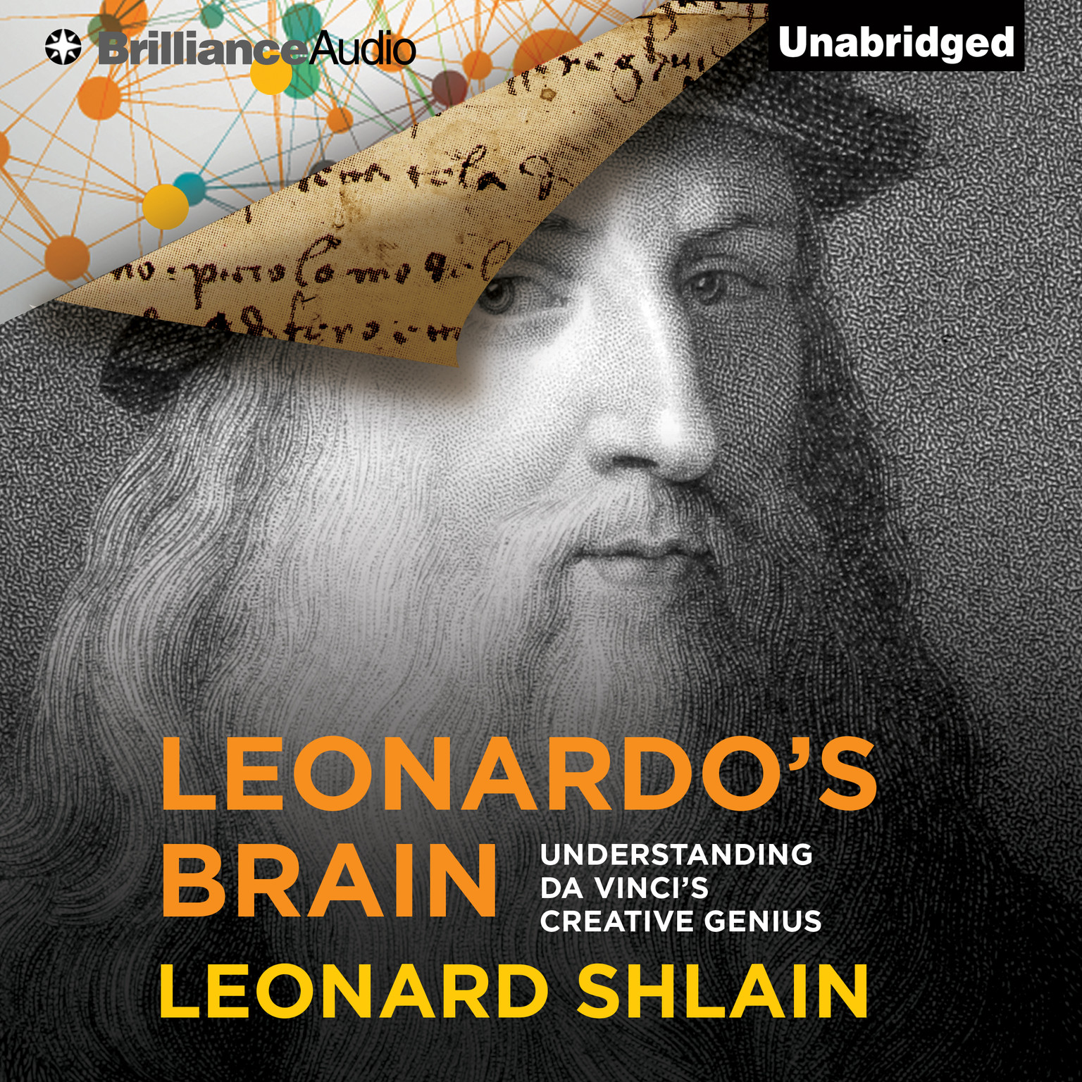 Printable Leonardo's Brain: Understanding da Vinci's Creative Genius Audiobook Cover Art