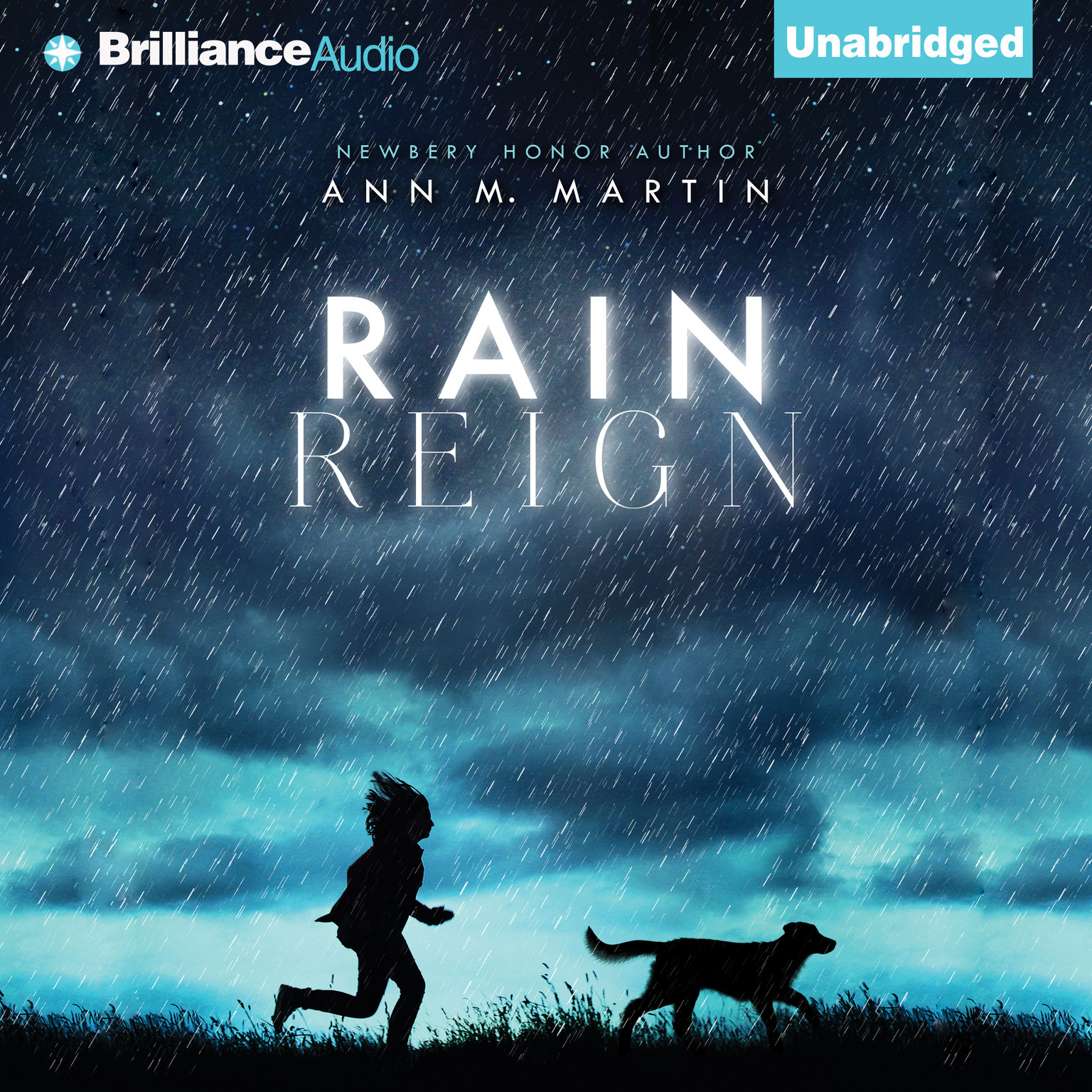 Printable Rain Reign Audiobook Cover Art