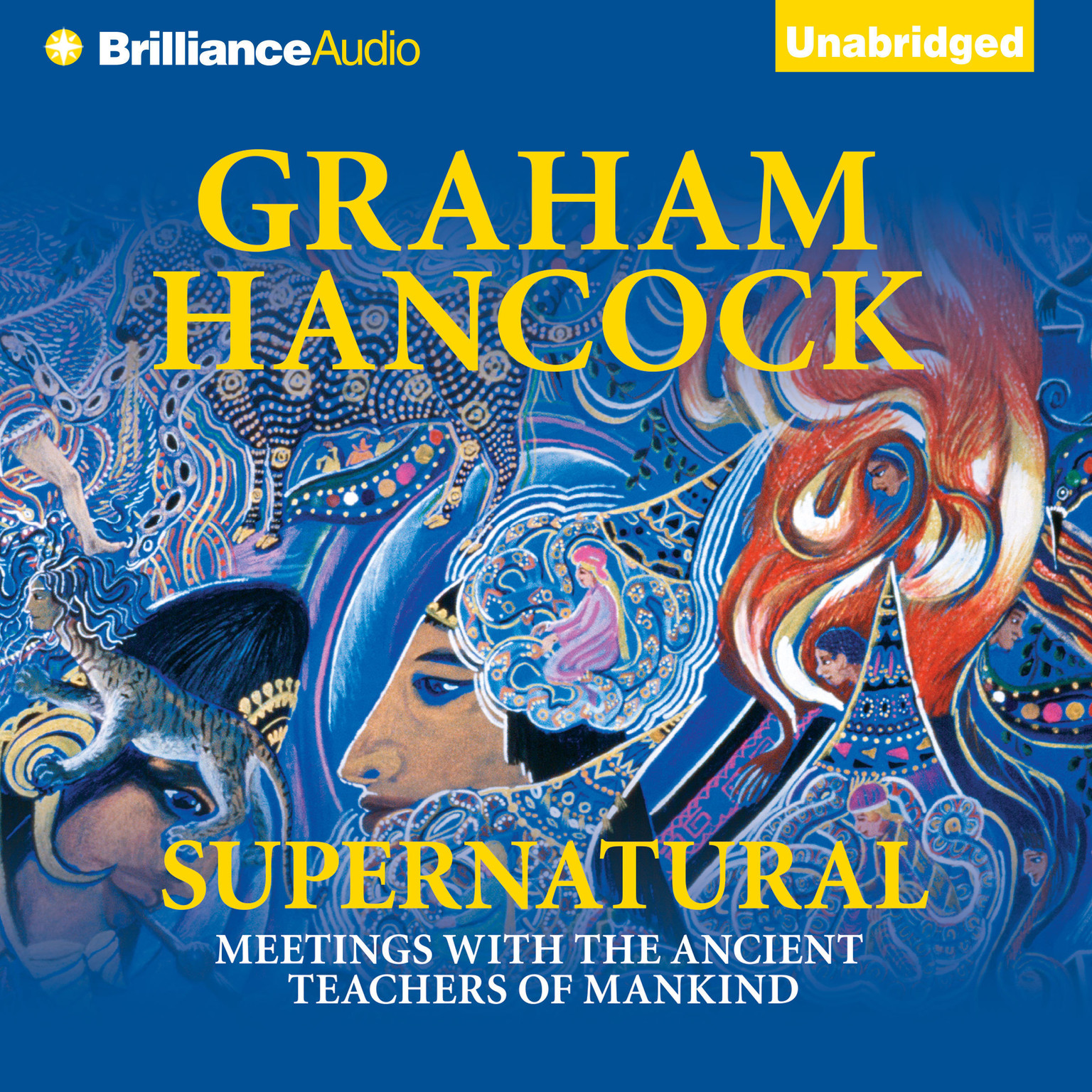 Printable Supernatural: Meetings with the Ancient Teachers of Mankind Audiobook Cover Art