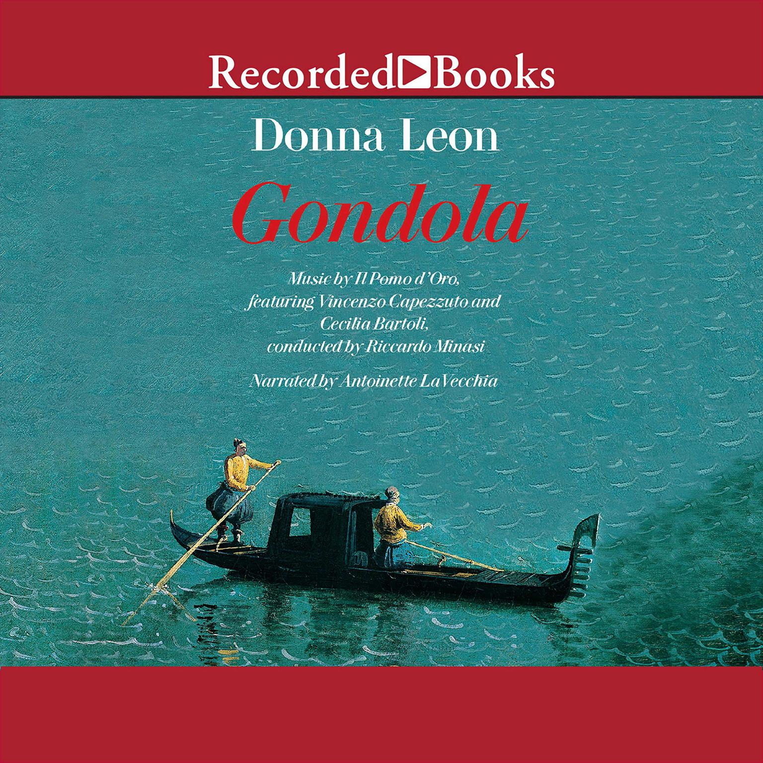 Printable Gondola Audiobook Cover Art