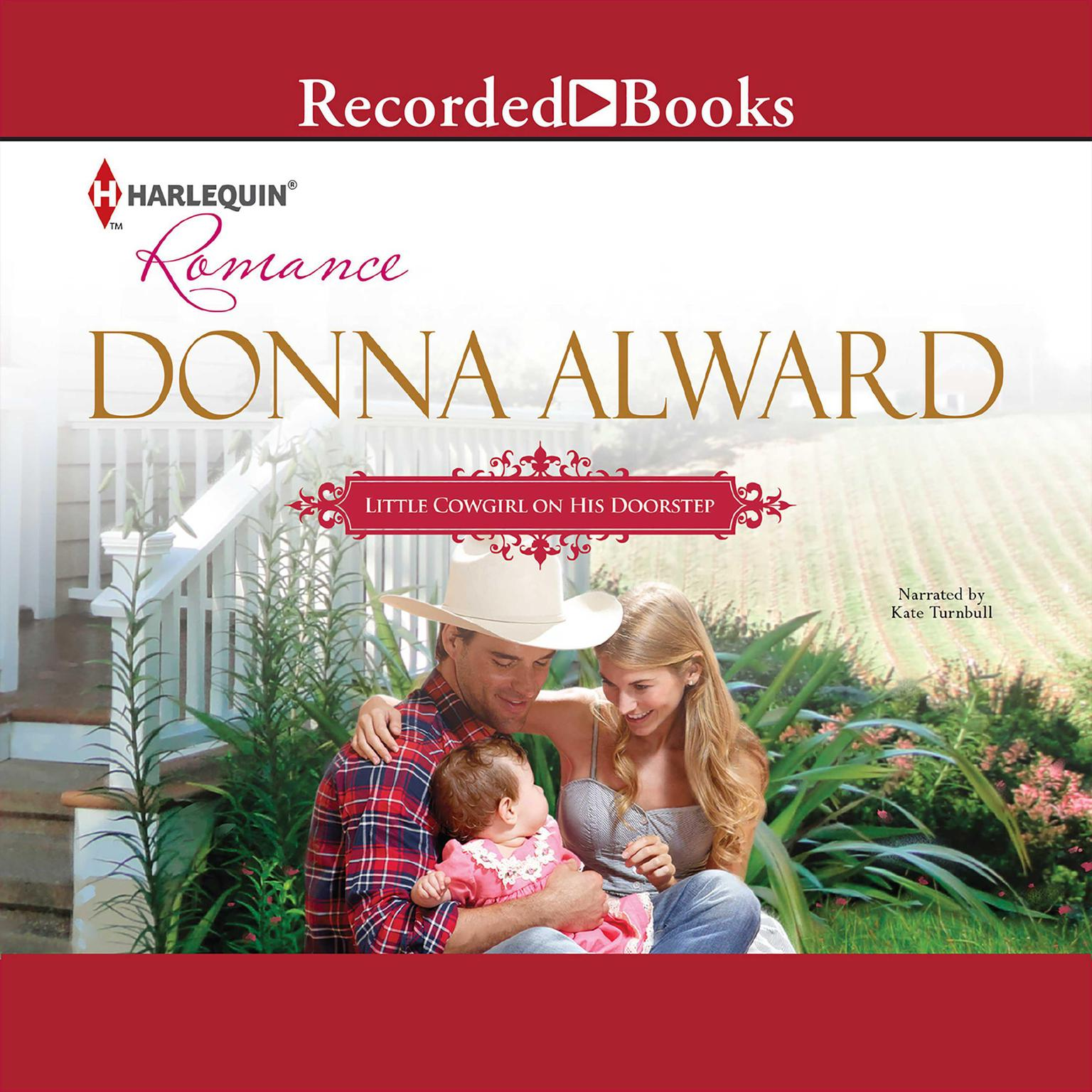 Printable Little Cowgirl on His Doorstep Audiobook Cover Art