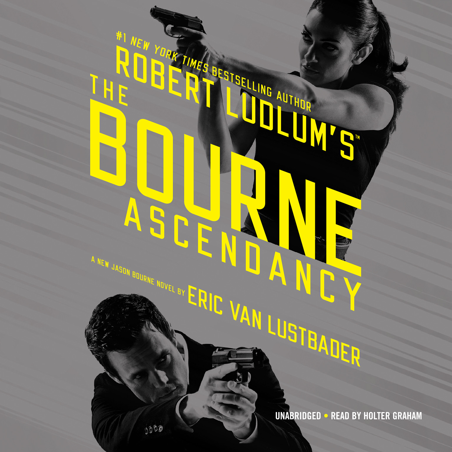 Printable Robert Ludlum's The Bourne Ascendancy Audiobook Cover Art