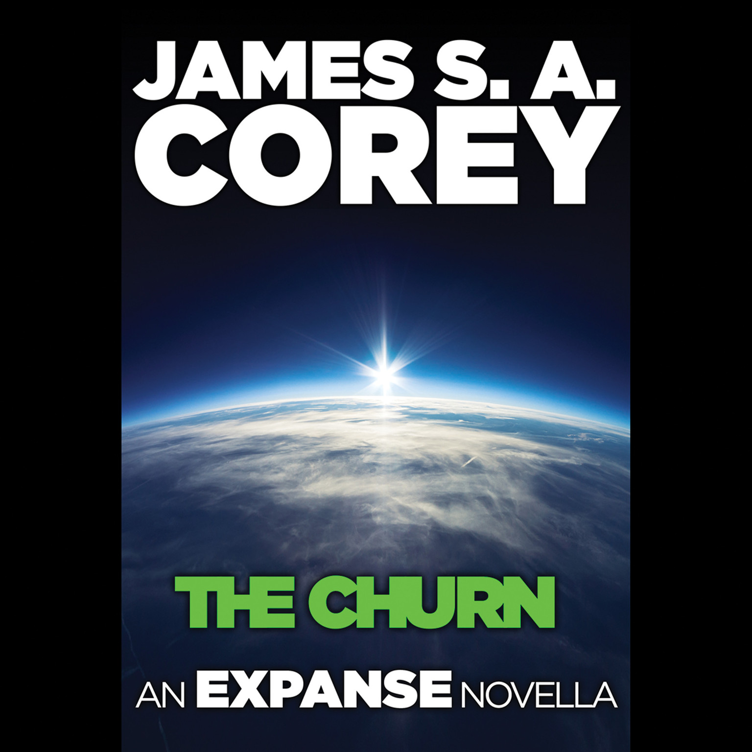 Printable The Churn: An Expanse Novella: An Expanse Novella Audiobook Cover Art