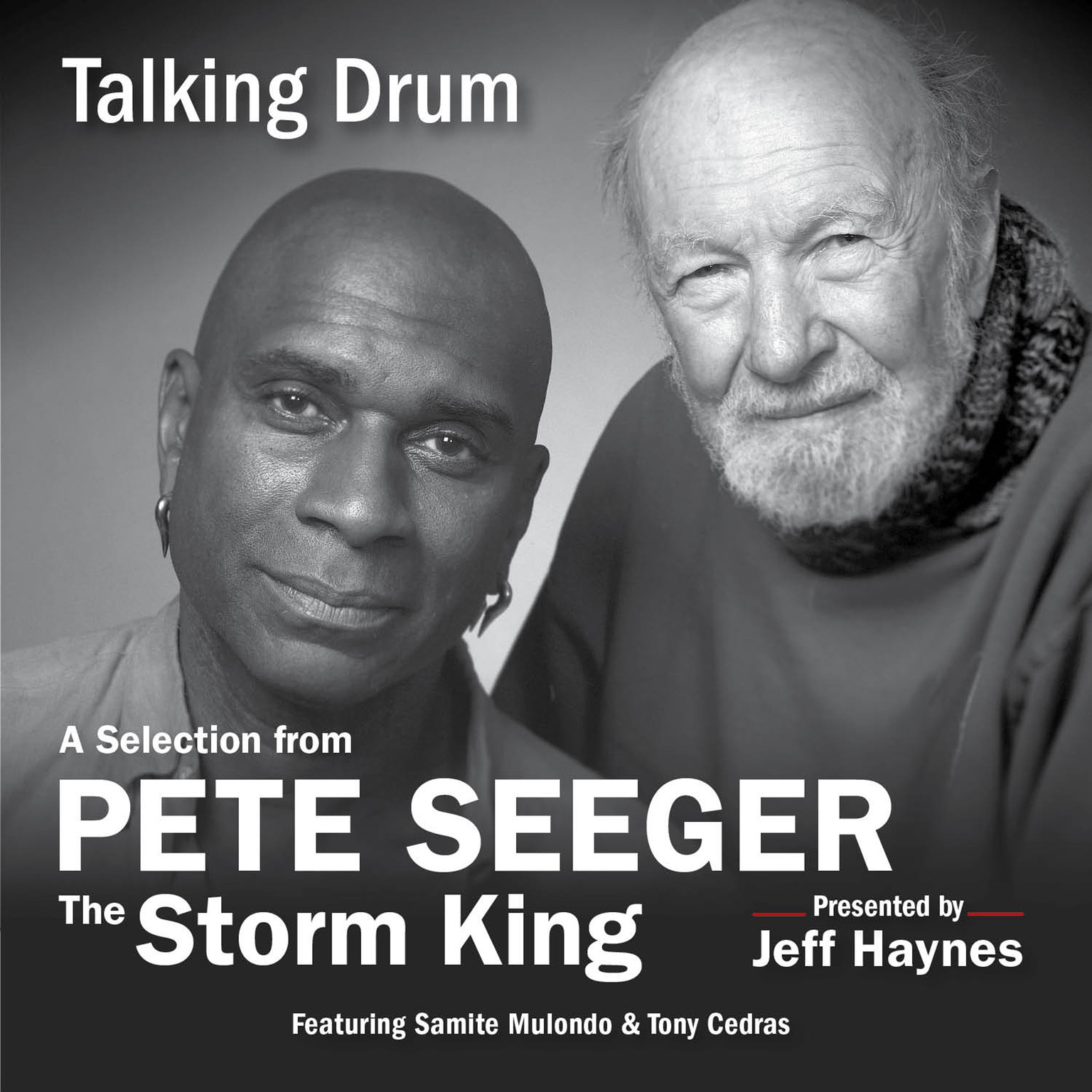Printable Talking Drum: A Selection from Pete Seeger: The Storm King Audiobook Cover Art