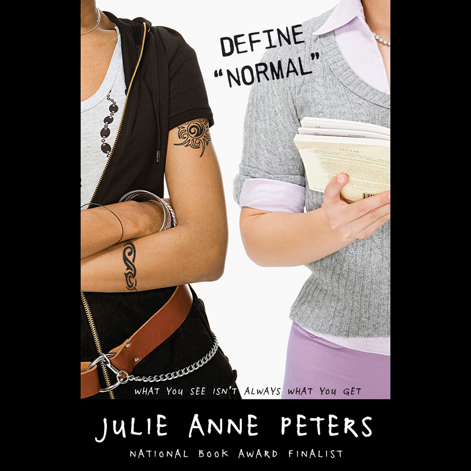 "Printable Define ""Normal"" Audiobook Cover Art"