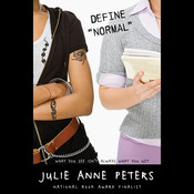 "Define ""Normal"" Audiobook, by Julie Anne Peters"