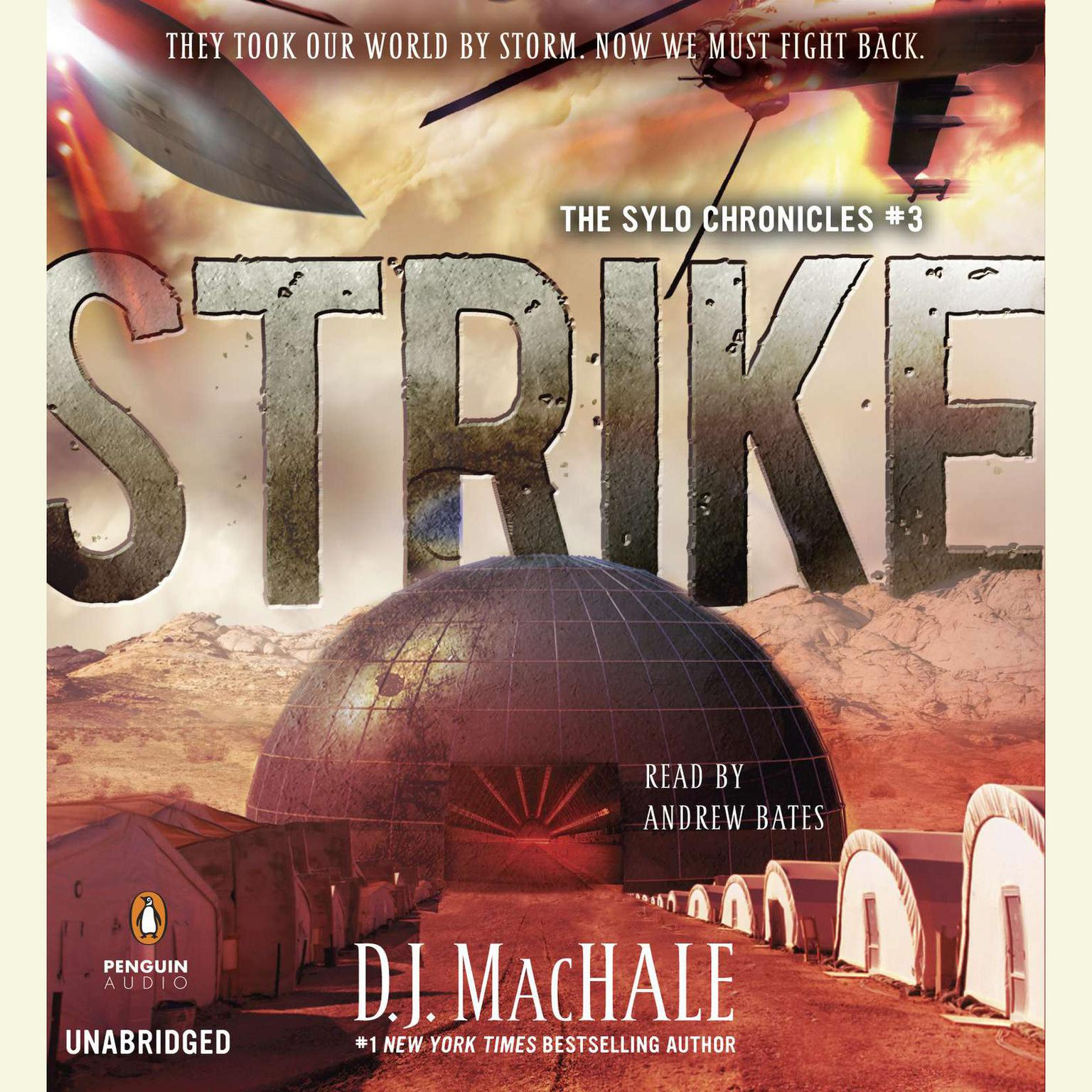 Printable Strike: The SYLO Chronicles #3 Audiobook Cover Art