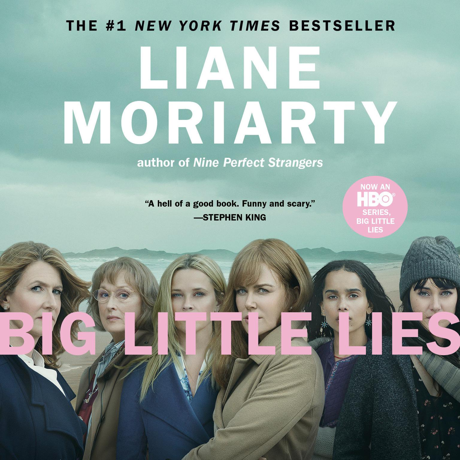 Printable Big Little Lies Audiobook Cover Art