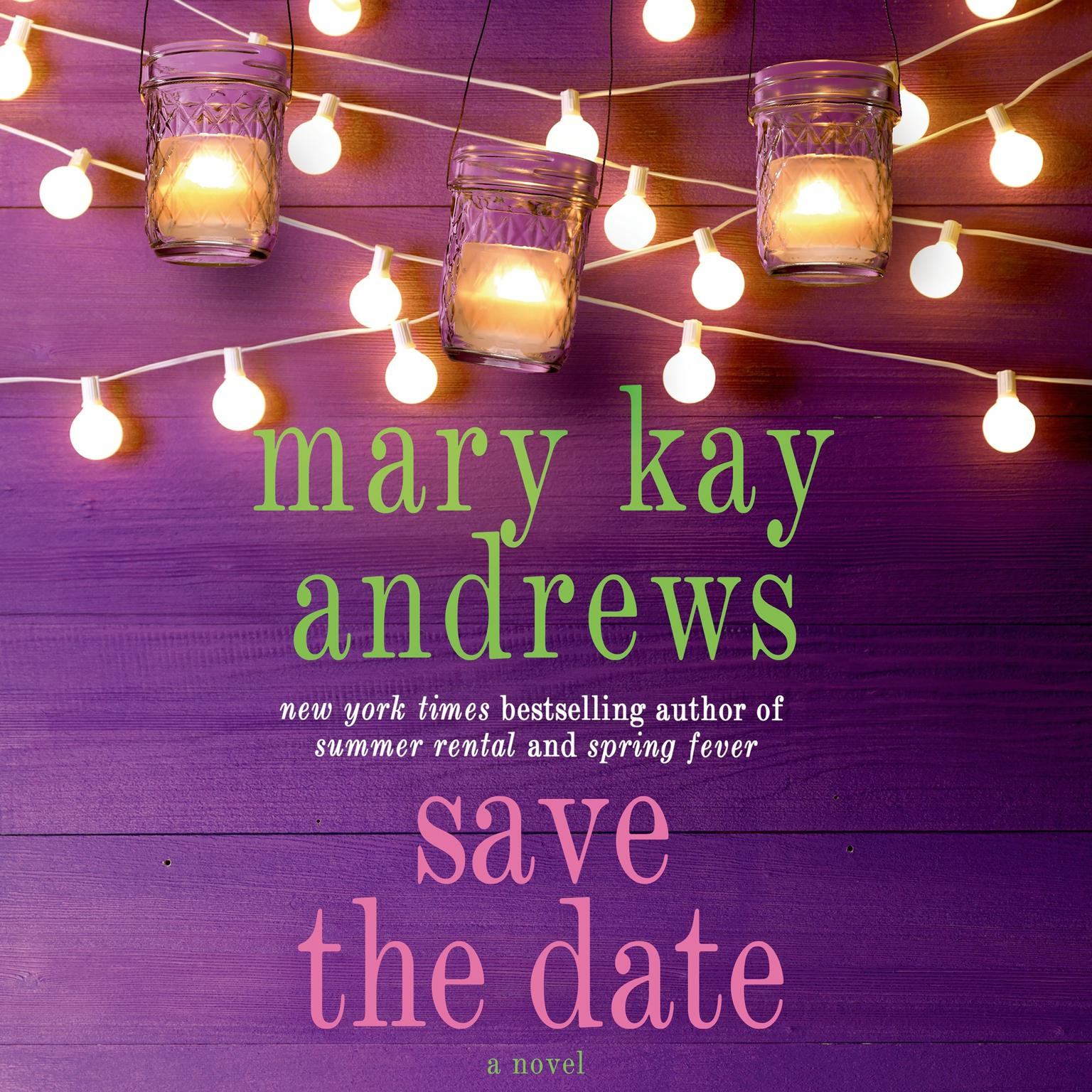 Printable Save the Date: A Novel Audiobook Cover Art