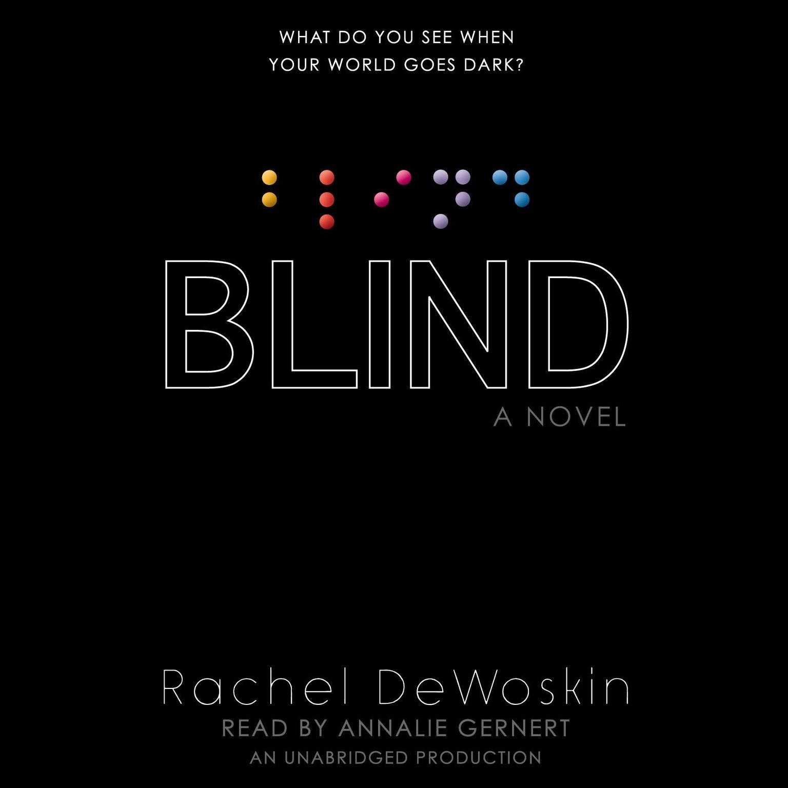Printable Blind Audiobook Cover Art