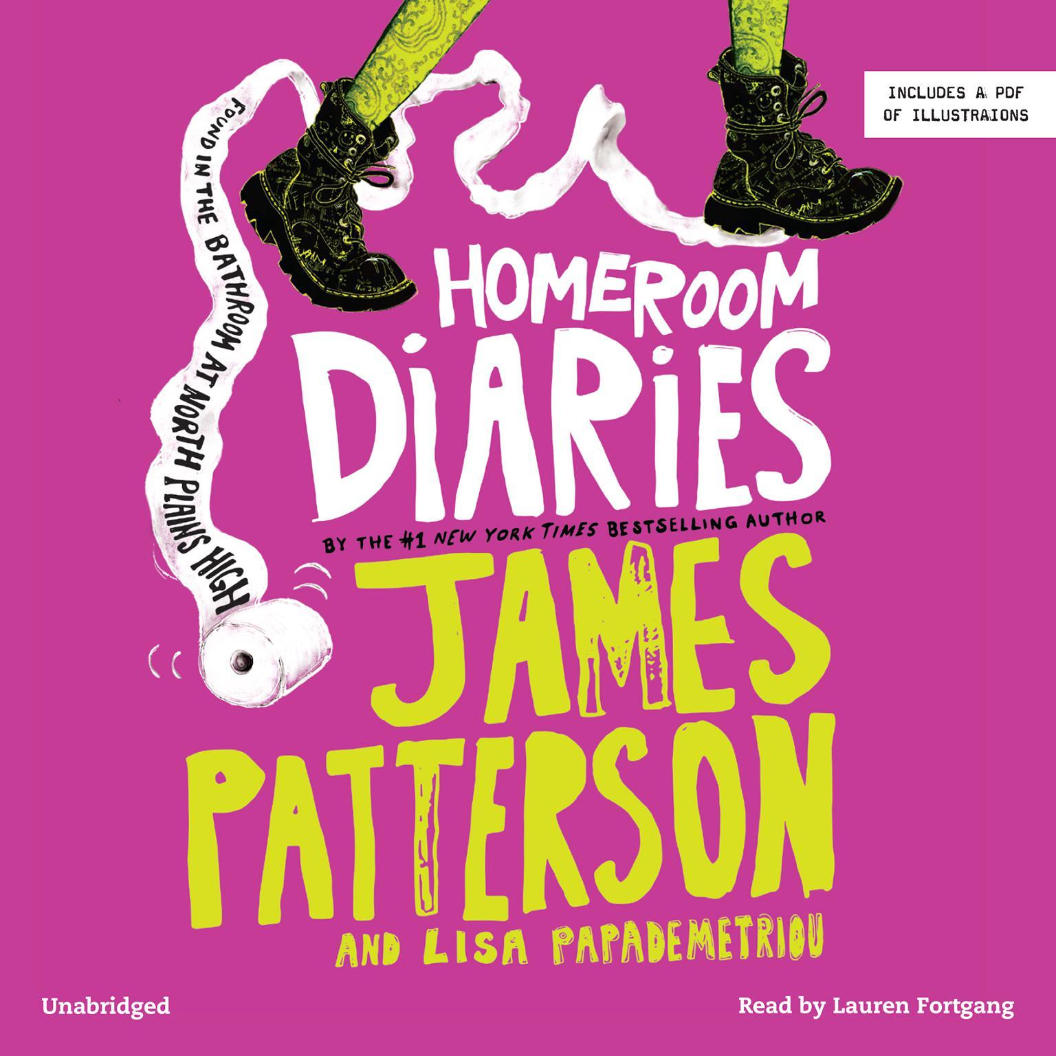 Printable Homeroom Diaries Audiobook Cover Art
