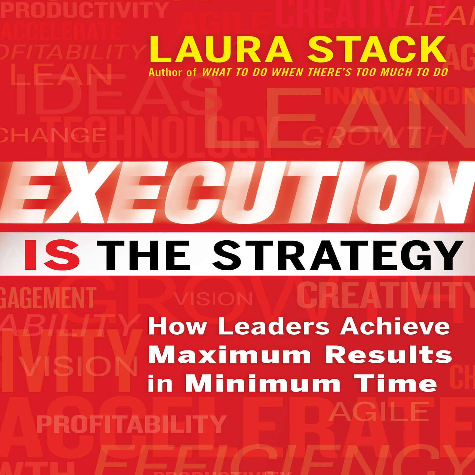 Printable Execution IS the Strategy: How Leaders Achieve Maximum Results in Minimum Time Audiobook Cover Art