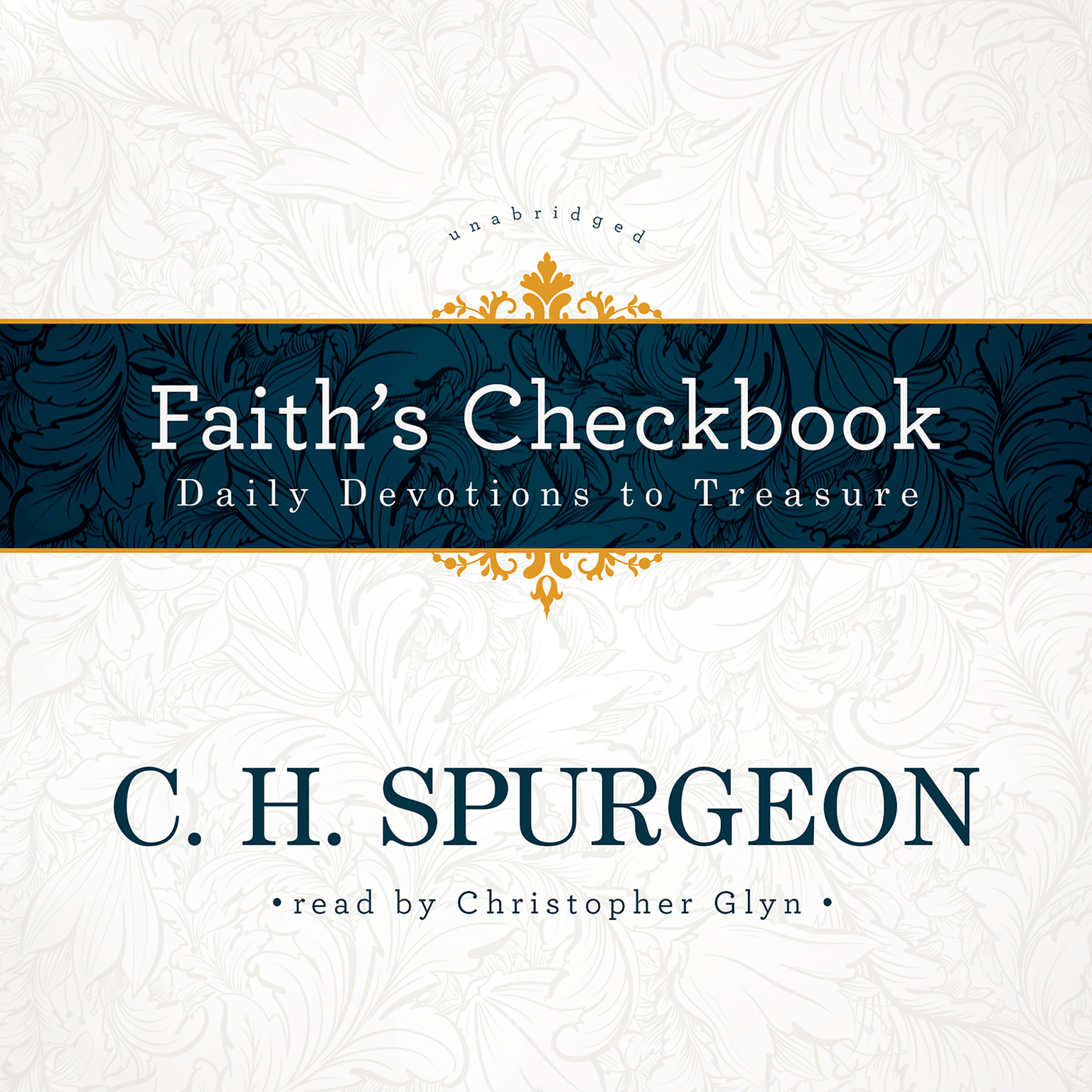 Printable Faith's Checkbook: Daily Devotions to Treasure Audiobook Cover Art