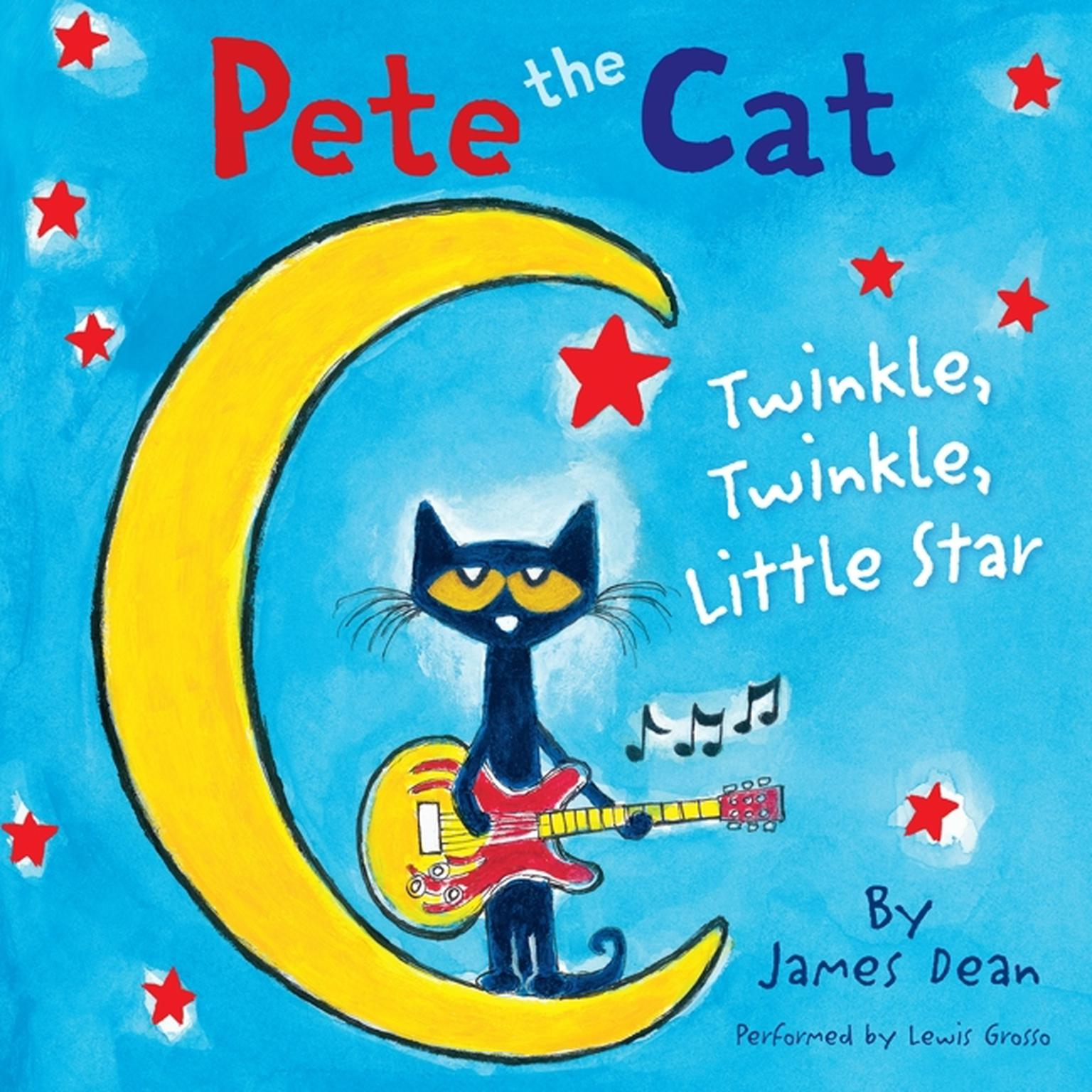 Printable Pete the Cat: Twinkle, Twinkle, Little Star Audiobook Cover Art