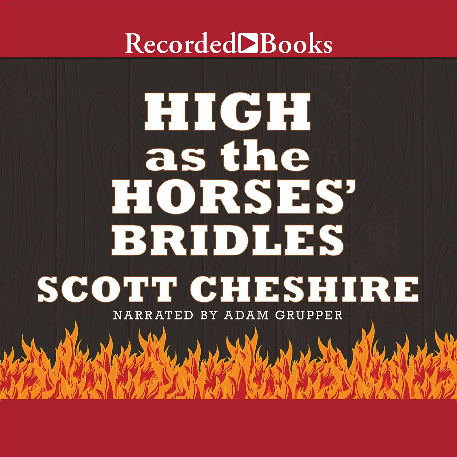 Printable High as the Horses' Bridles Audiobook Cover Art