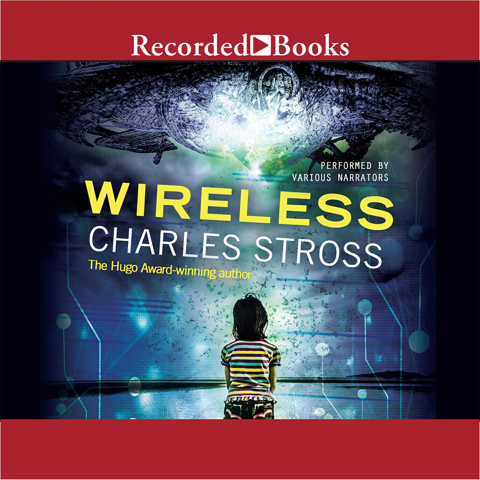 Printable Wireless Audiobook Cover Art