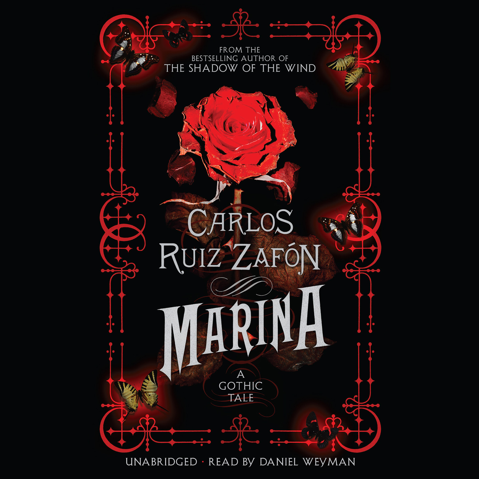 Printable Marina: A Gothic Tale Audiobook Cover Art