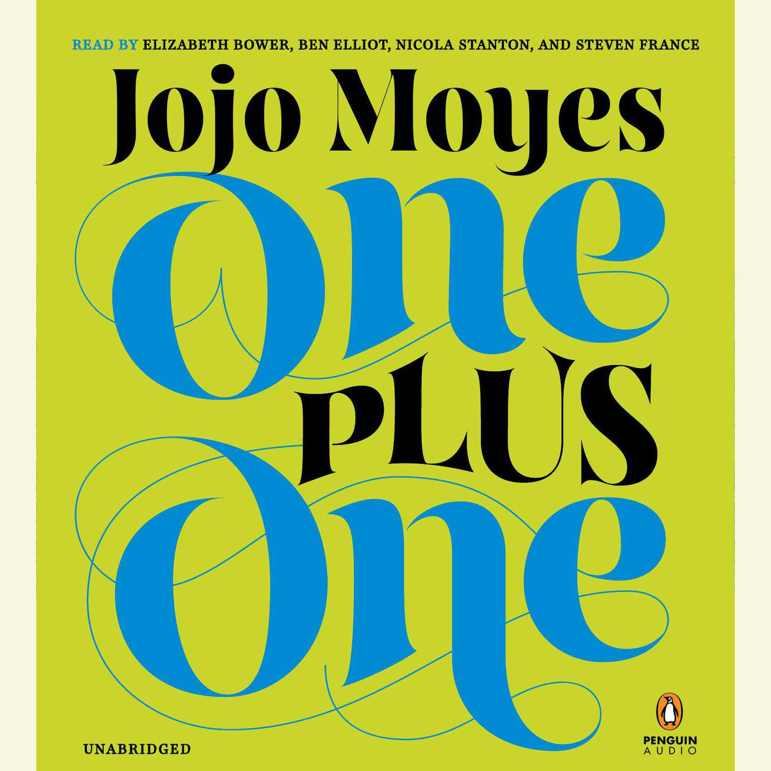 Printable One Plus One: A Novel Audiobook Cover Art