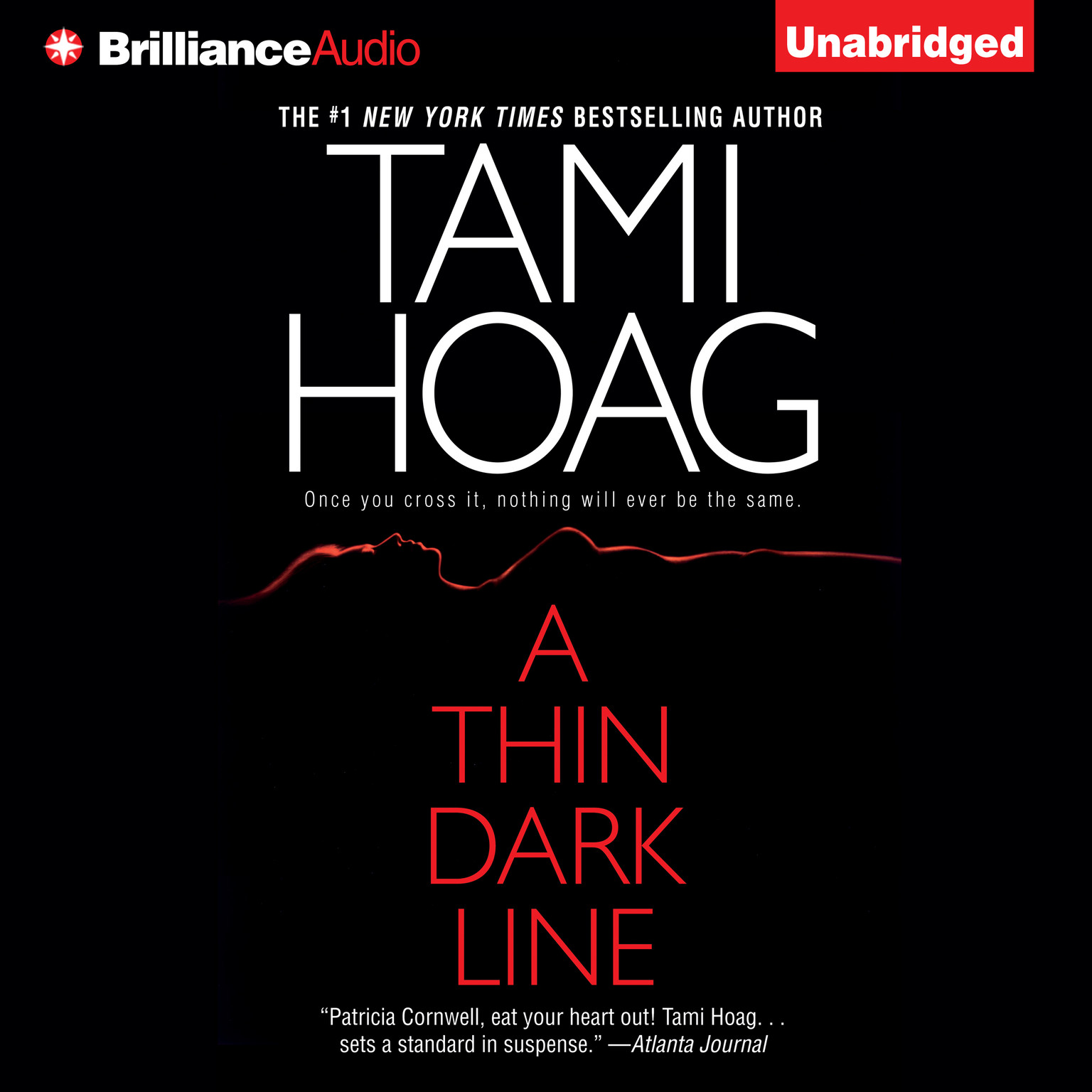 Printable A Thin Dark Line Audiobook Cover Art