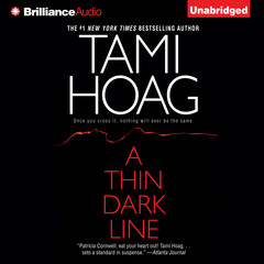 A Thin Dark Line Audiobook, by Tami Hoag