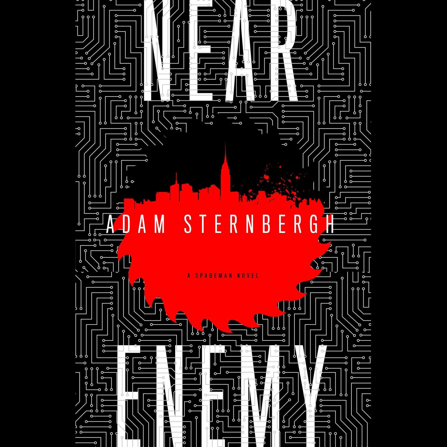 Printable Near Enemy: A Spademan Novel Audiobook Cover Art