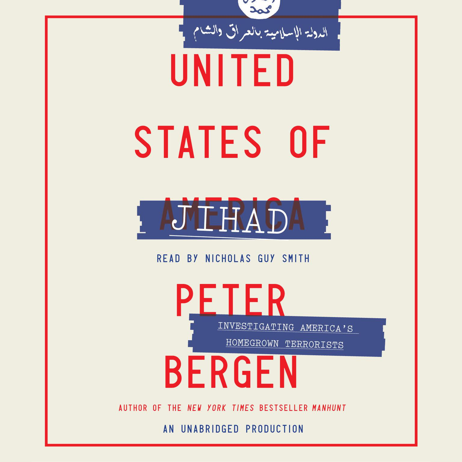 Printable United States of Jihad: Investigating America's Homegrown Terrorists Audiobook Cover Art