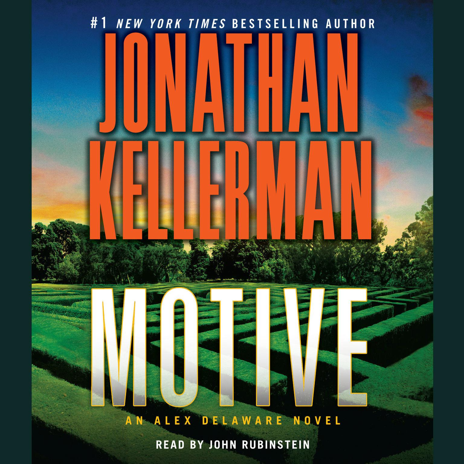 Printable Motive: An Alex Delaware Novel Audiobook Cover Art