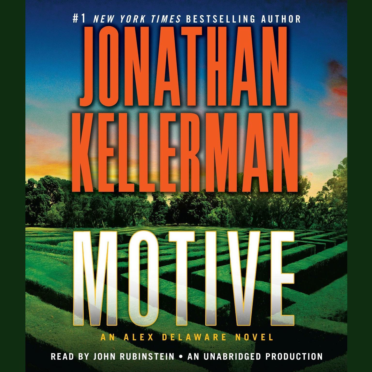Printable Motive: An Alex Delaware Novel Audiobook Cover Art