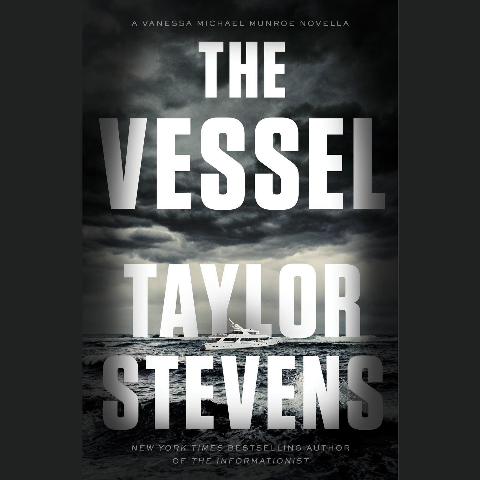 Printable The Vessel: A Vanessa Michael Munroe Novella Audiobook Cover Art