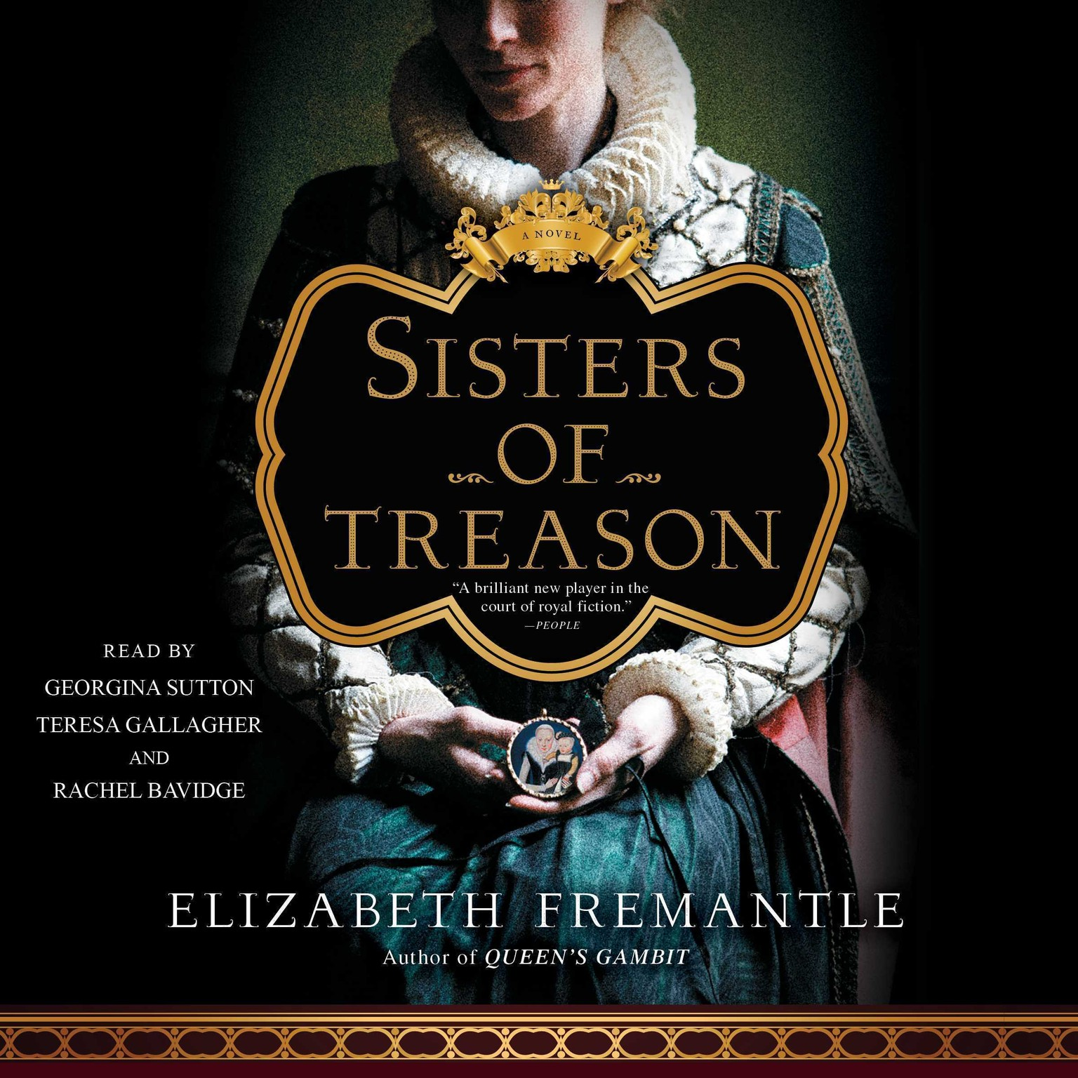 Printable Sisters of Treason: A Novel Audiobook Cover Art