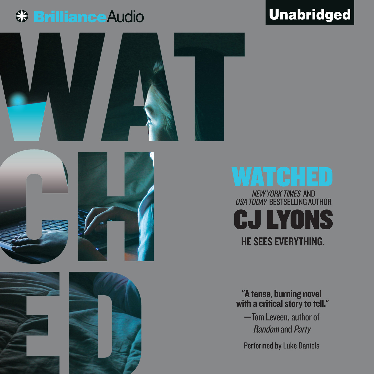 Printable Watched Audiobook Cover Art