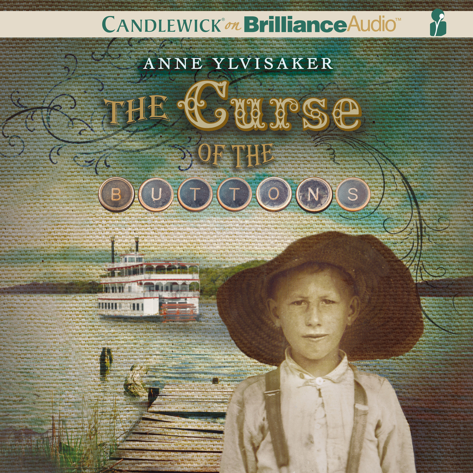 Printable The Curse of the Buttons Audiobook Cover Art