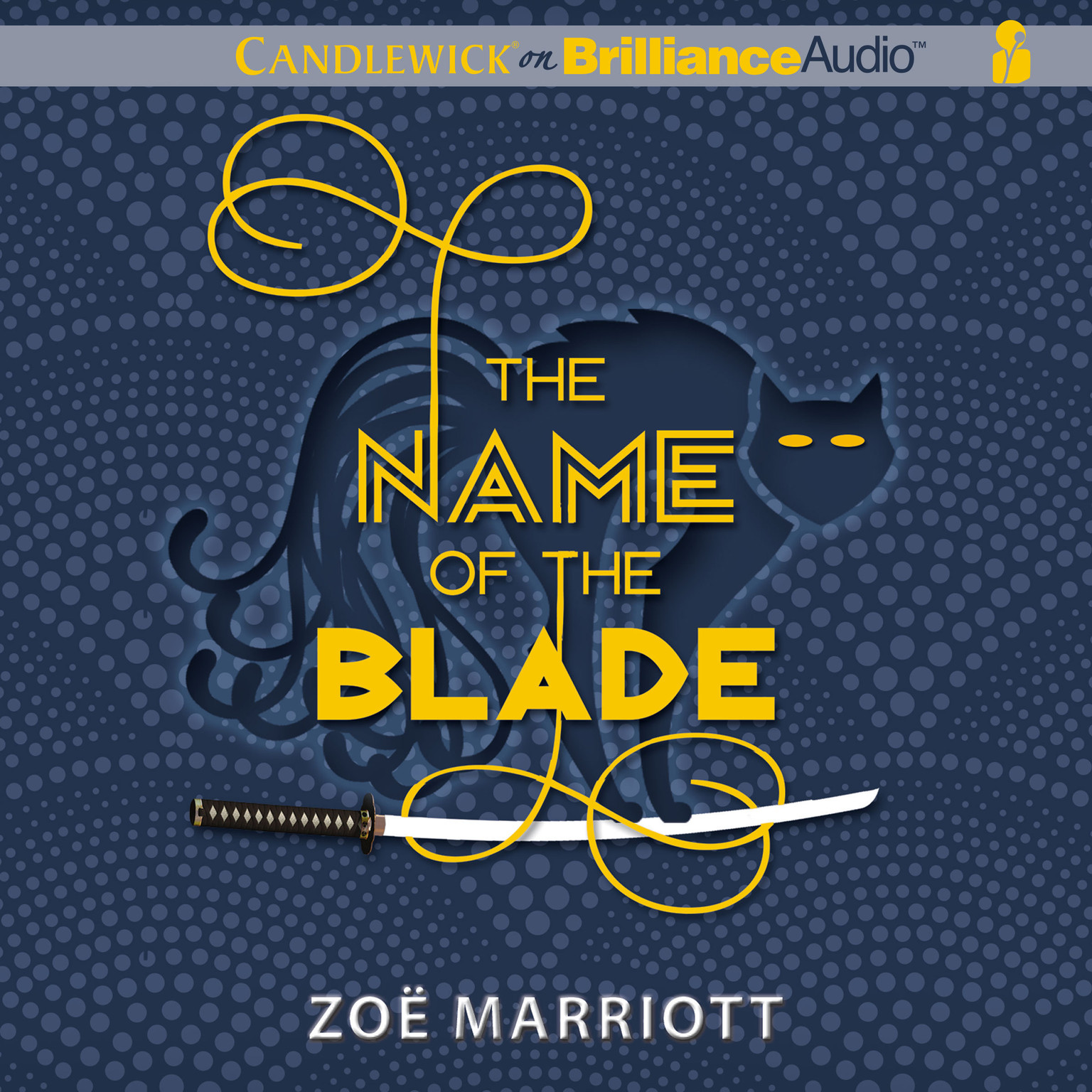 Printable The Name of the Blade Audiobook Cover Art