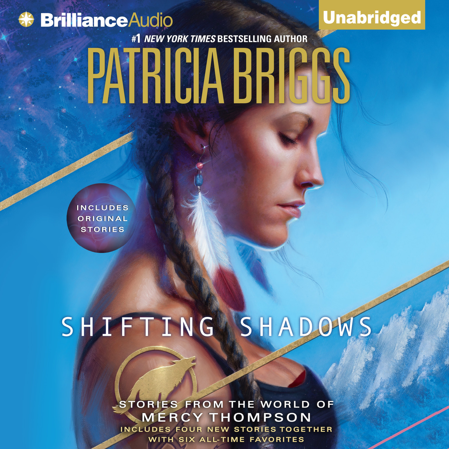 Printable Shifting Shadows: Stories from the World of Mercy Thompson Audiobook Cover Art