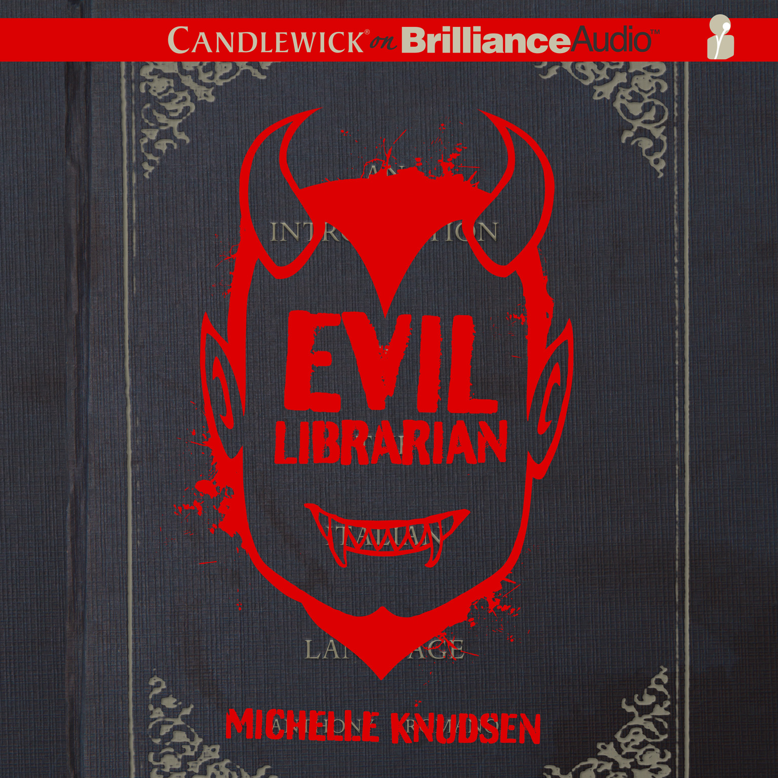 Printable Evil Librarian Audiobook Cover Art