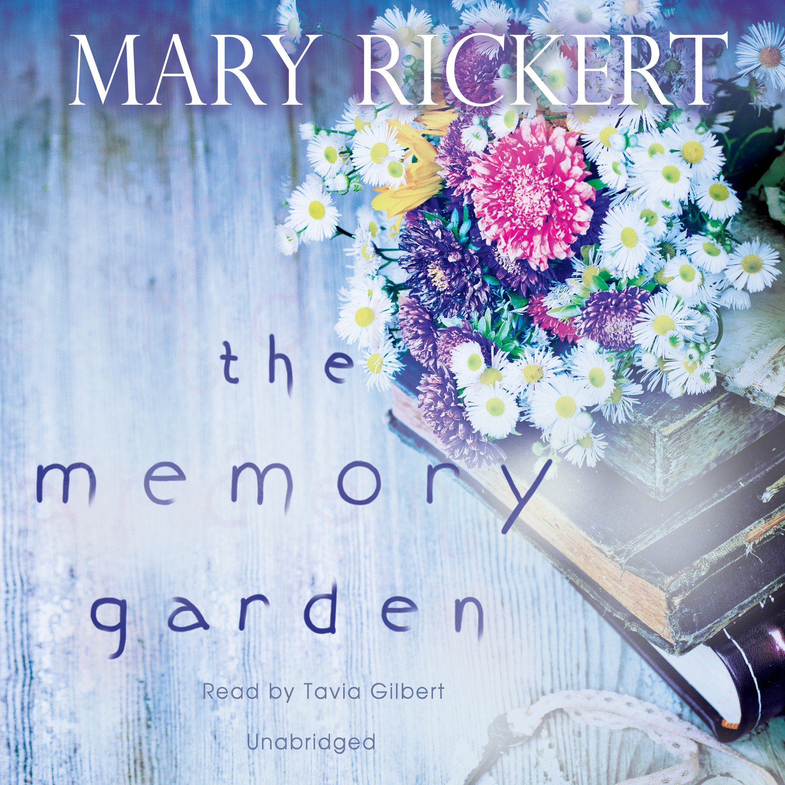 Printable The Memory Garden Audiobook Cover Art